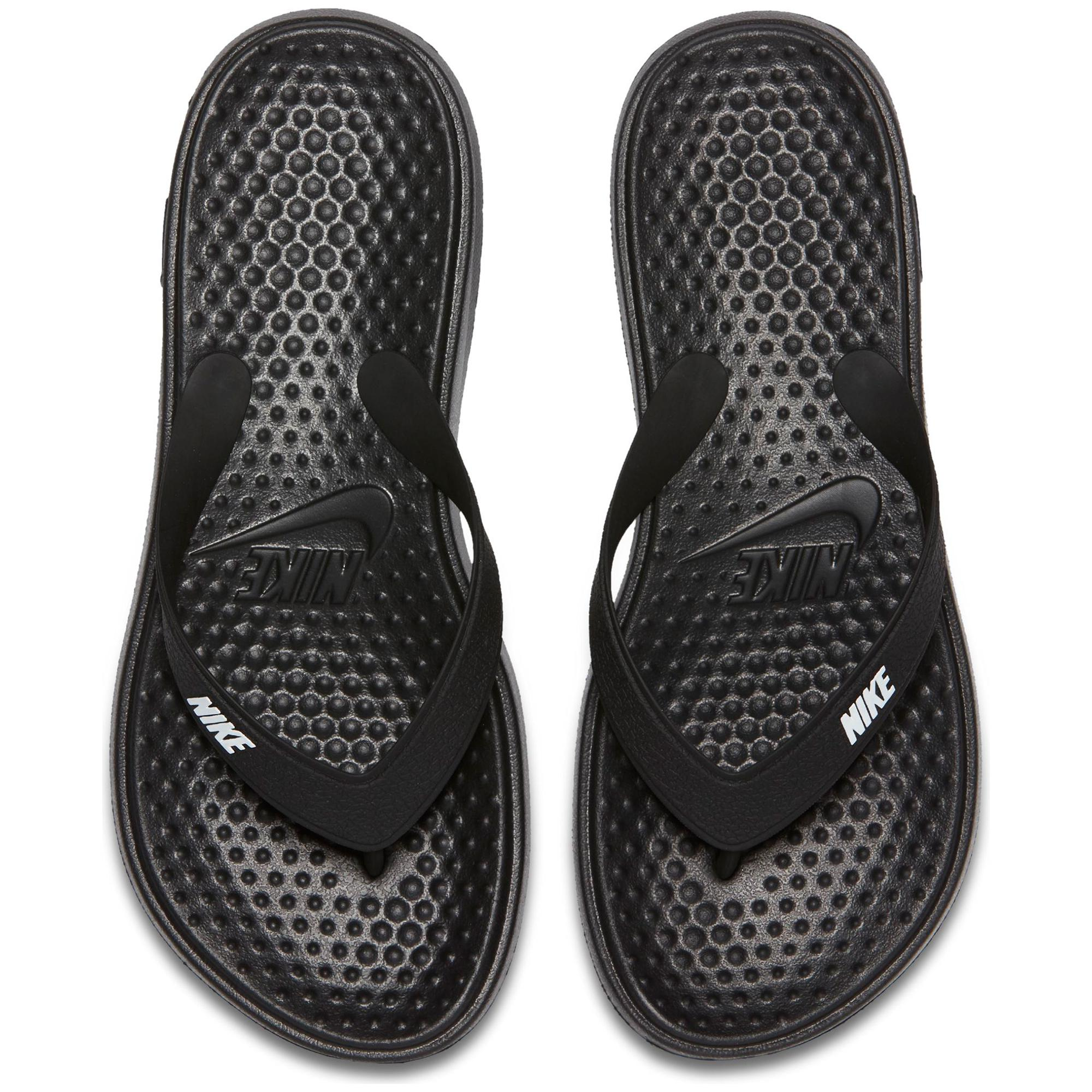 sandals thong nike by womens black comfort for sss solay comforter shop