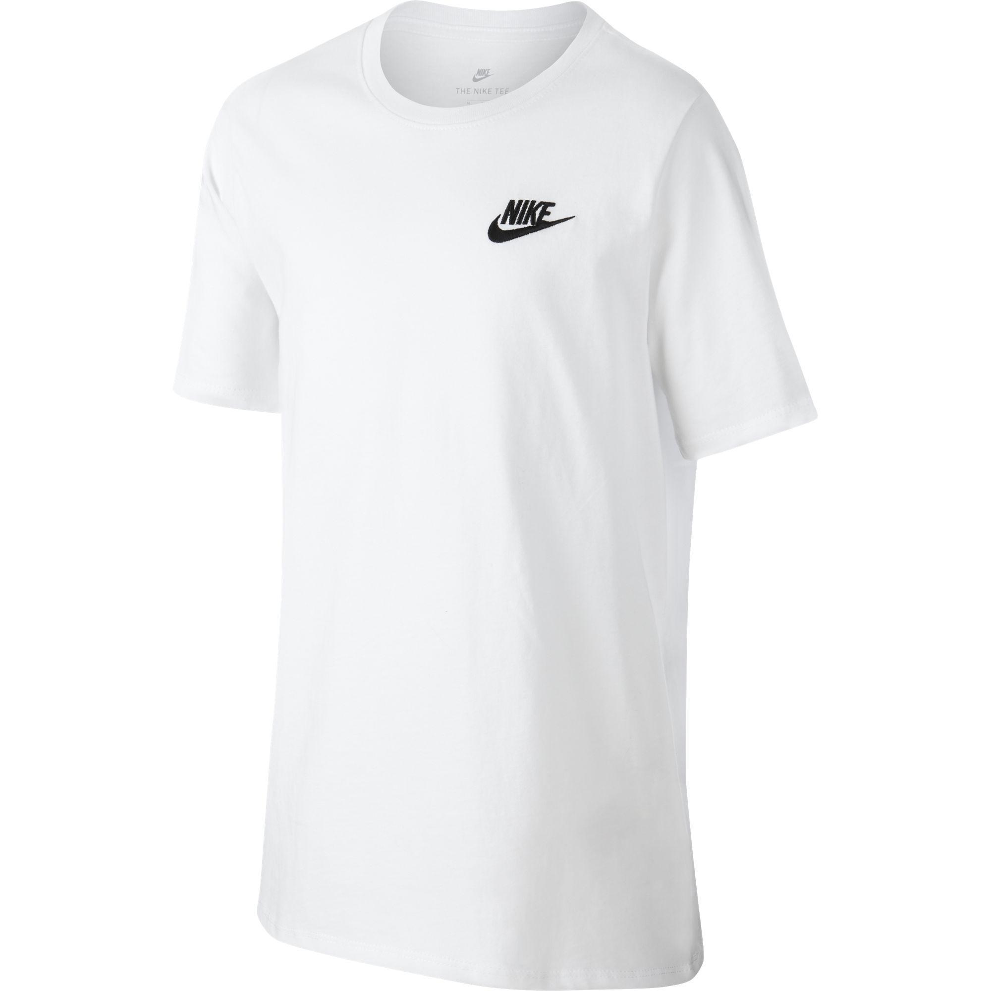 0a6e8211b508 Nike Boys Training T-Shirt - White - Tennisnuts.com