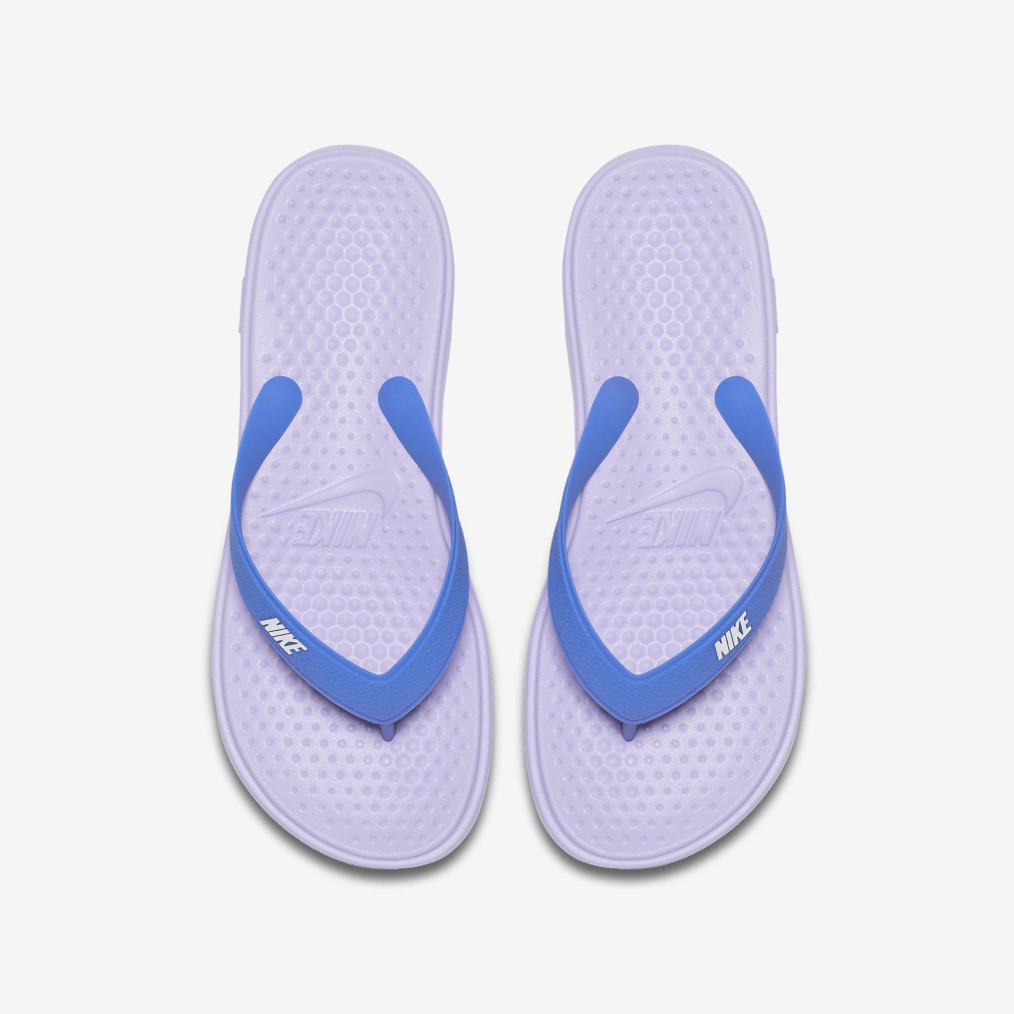 bffa6d7ddf6c Nike Girls Solay Thong (Flip Flops) - Hydrangeas Comet Blue ...