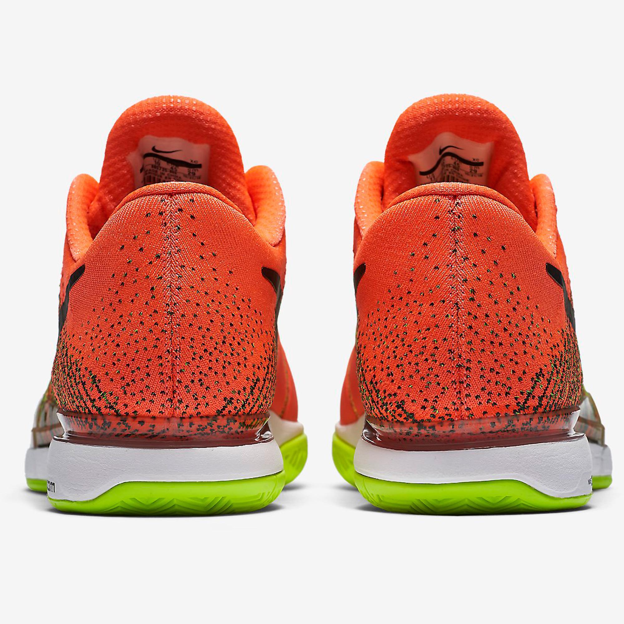 Inútil legislación Definir  Nike Mens Zoom Vapor 9.5 Flyknit Tennis Shoes - Hyper Orange -  Tennisnuts.com