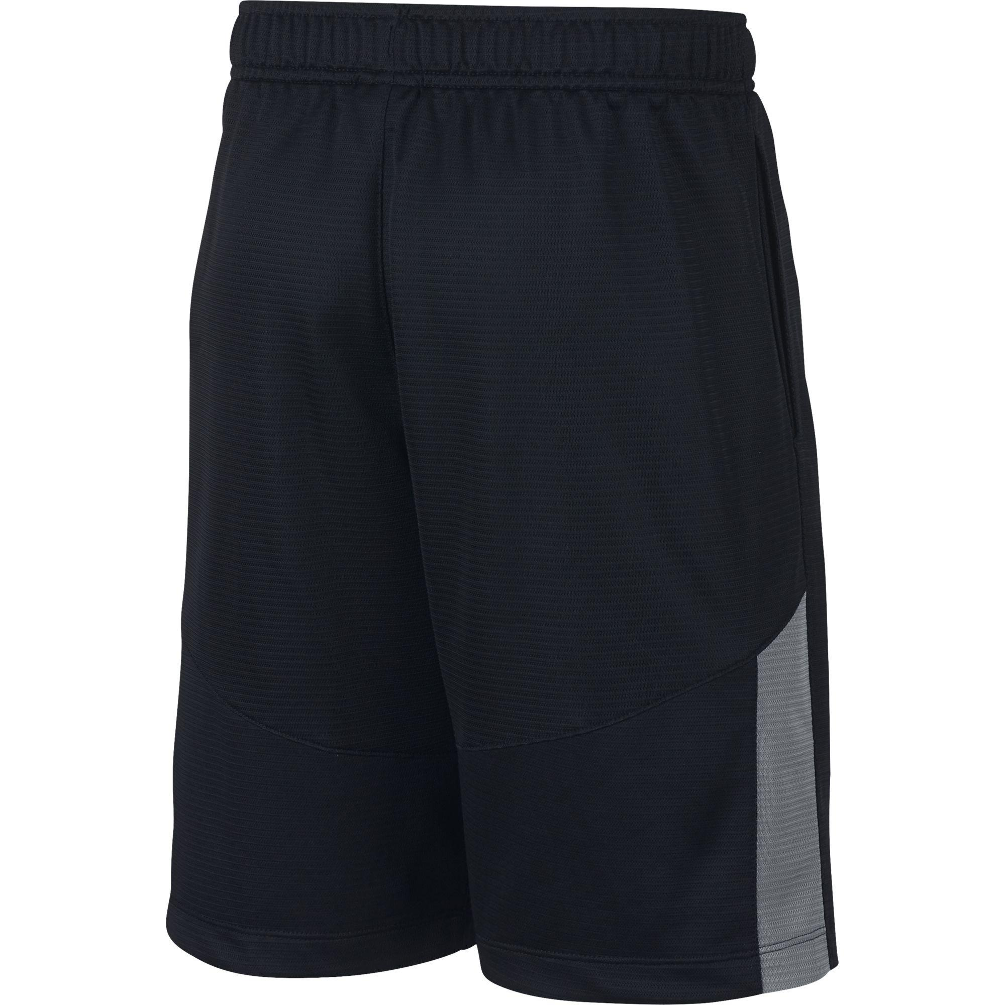 Nike Boys Dry Shorts - Black/Cool Grey - Tennisnuts.com