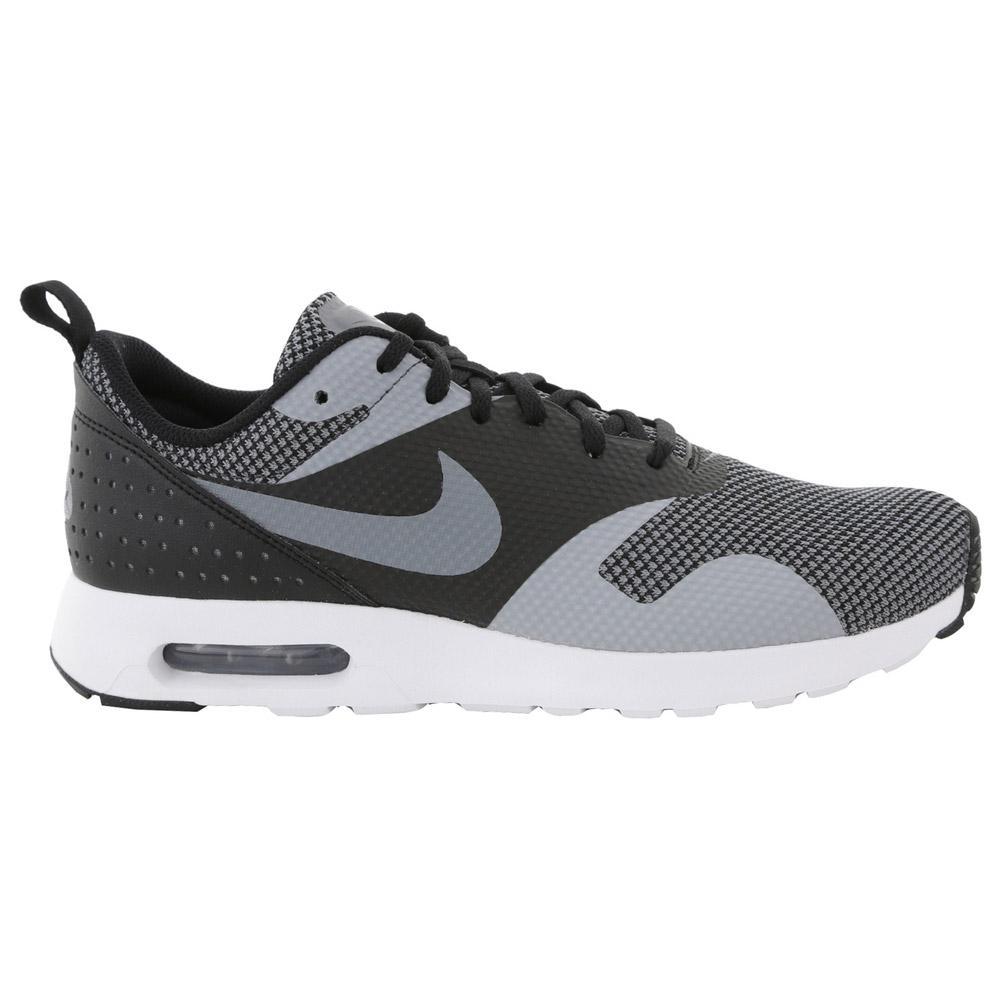 Nike Mens Air Max Tavas Premium Running Shoes BlackCool Grey