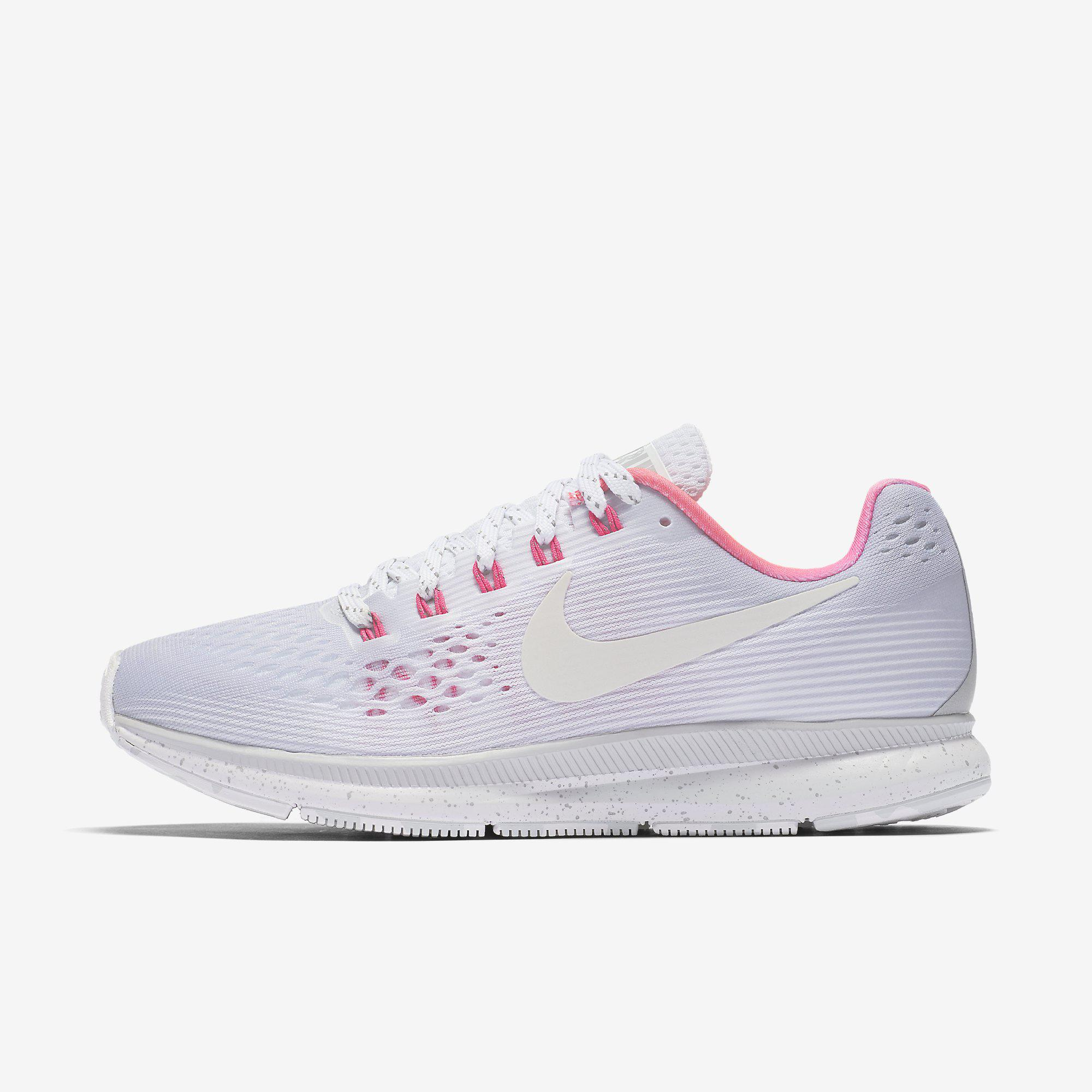 c53962a64f55 Nike Womens Air Zoom Pegasus 34 Betrue Running Shoes - Wolf Grey -  Tennisnuts.com