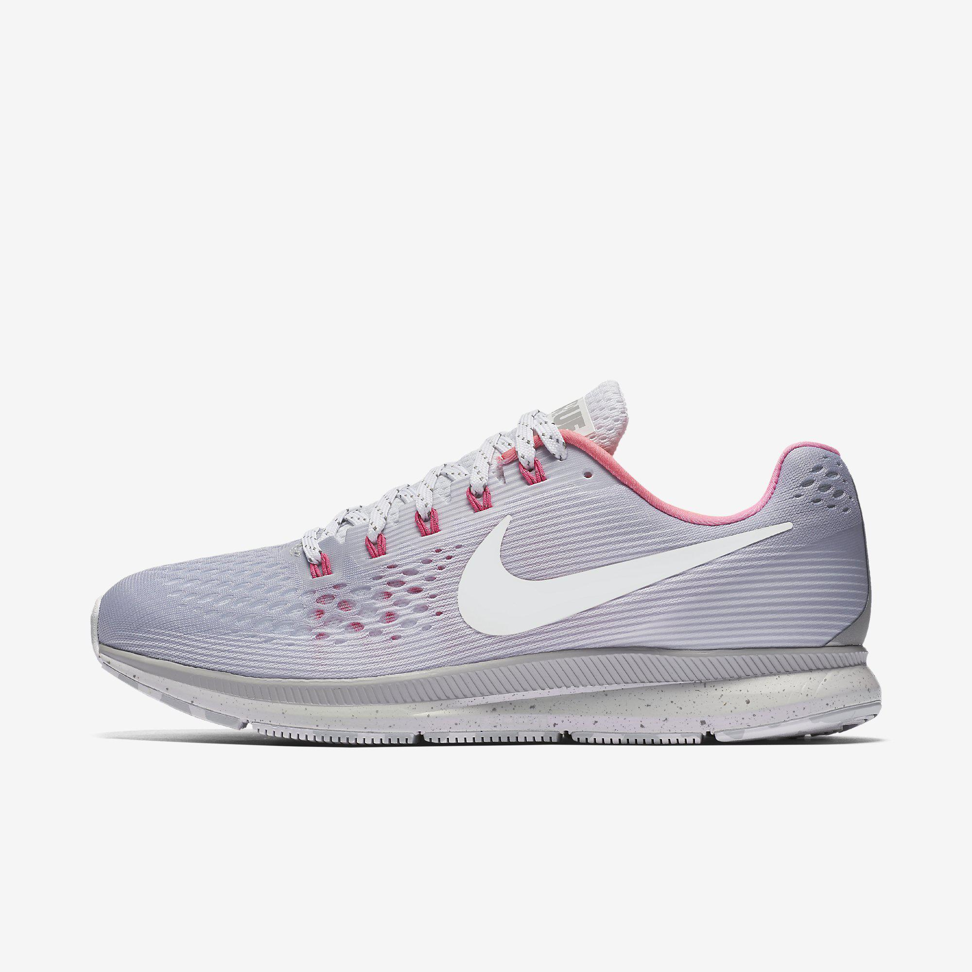 nike mens air zoom pegasus 34 betrue running shoes wolf grey. Black Bedroom Furniture Sets. Home Design Ideas