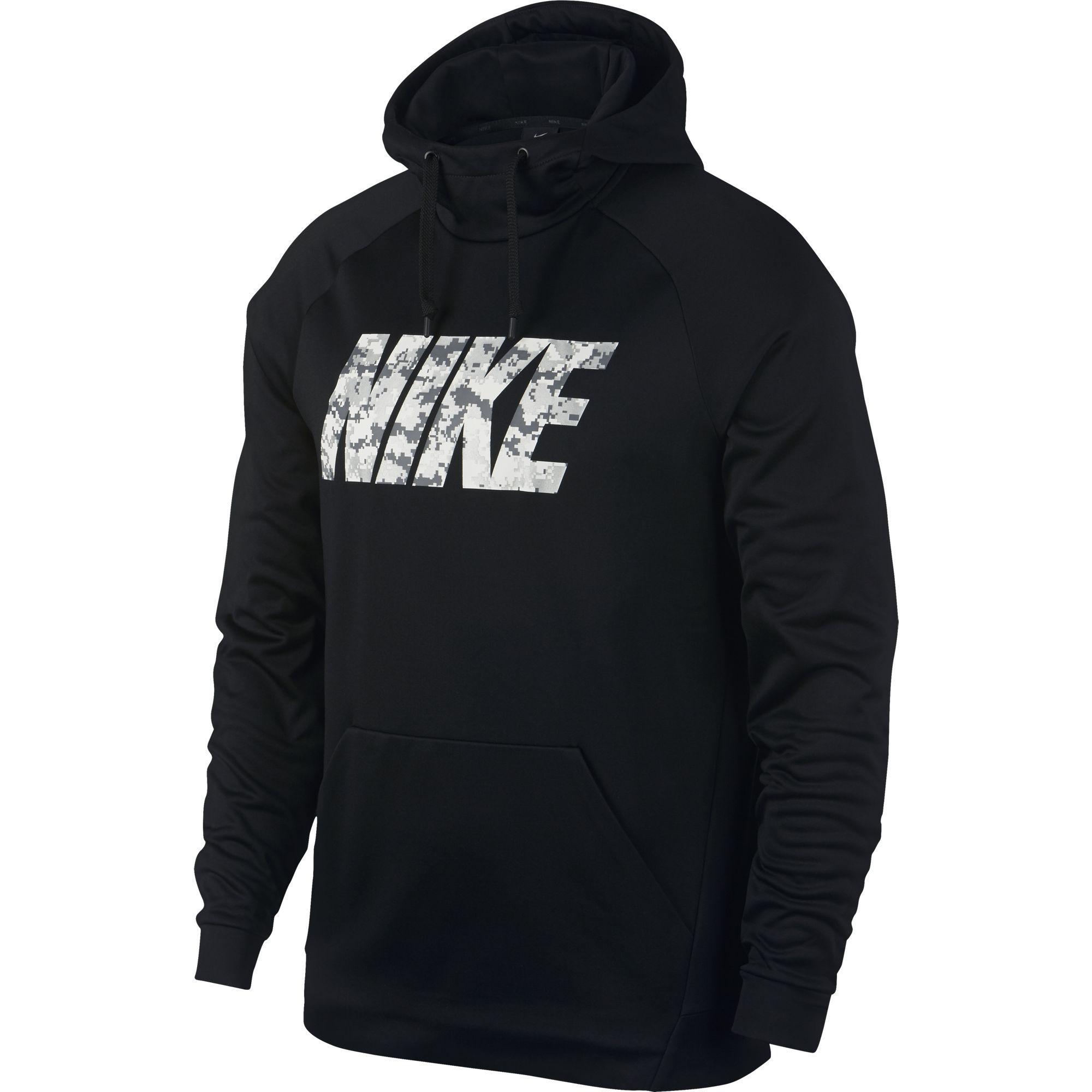 Nike Mens Therma Training Hoodie - Black - Tennisnuts.com