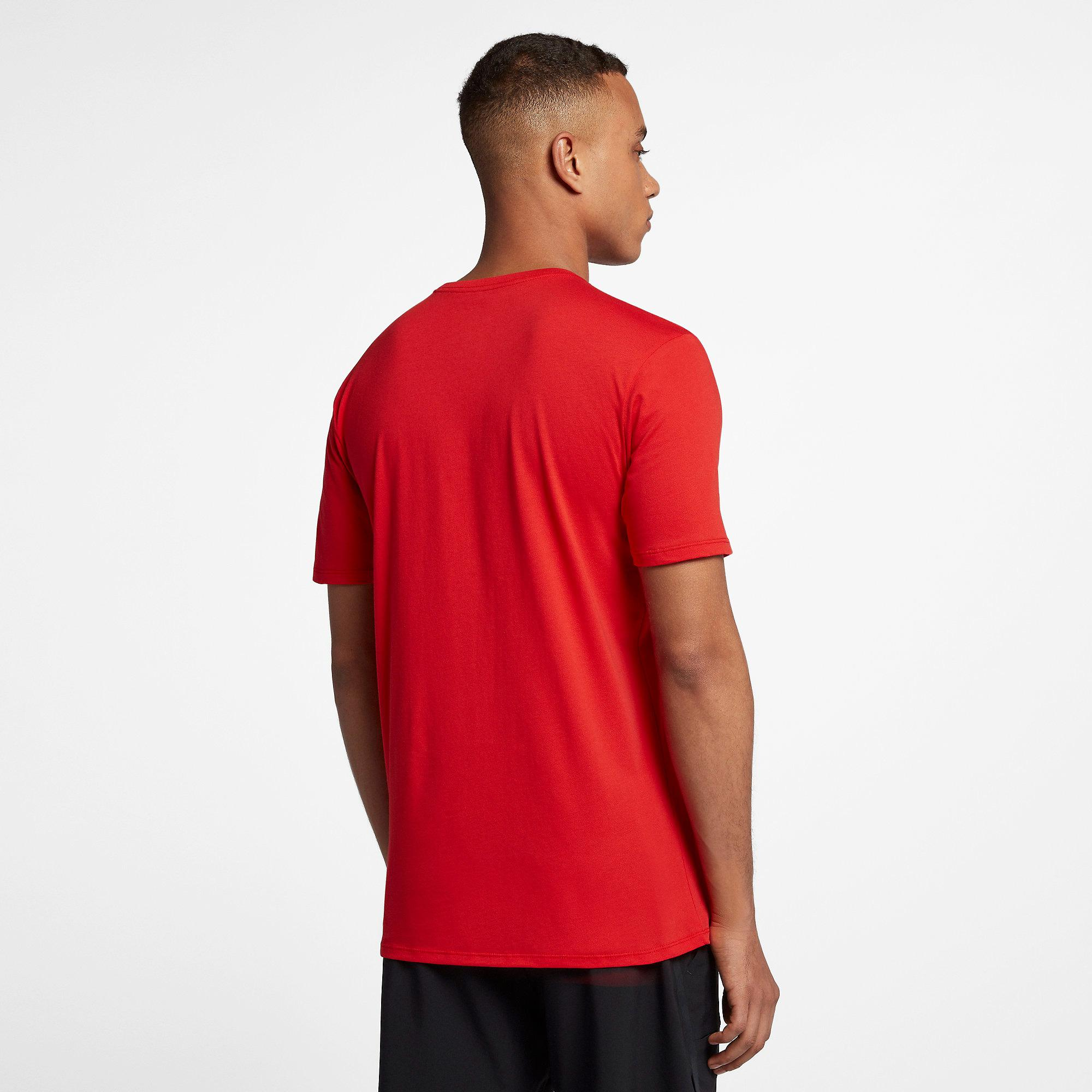 cce403980 Nike Mens RF T-Shirt - Habanero Red/Total Crimson - Tennisnuts.com