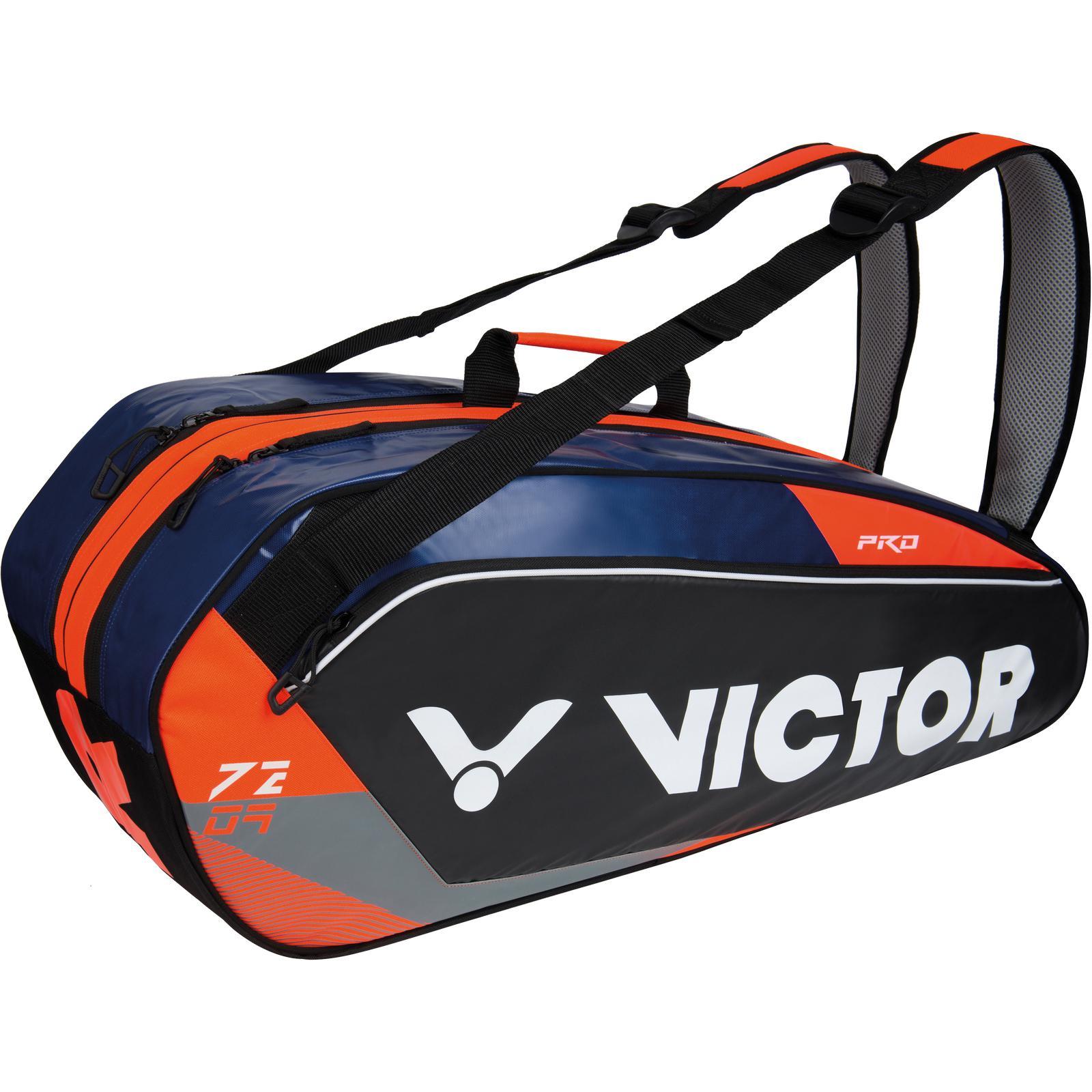 b71b2d2f0b Victor Double Thermo Bag (7209) - Blue/Orange - Tennisnuts.com