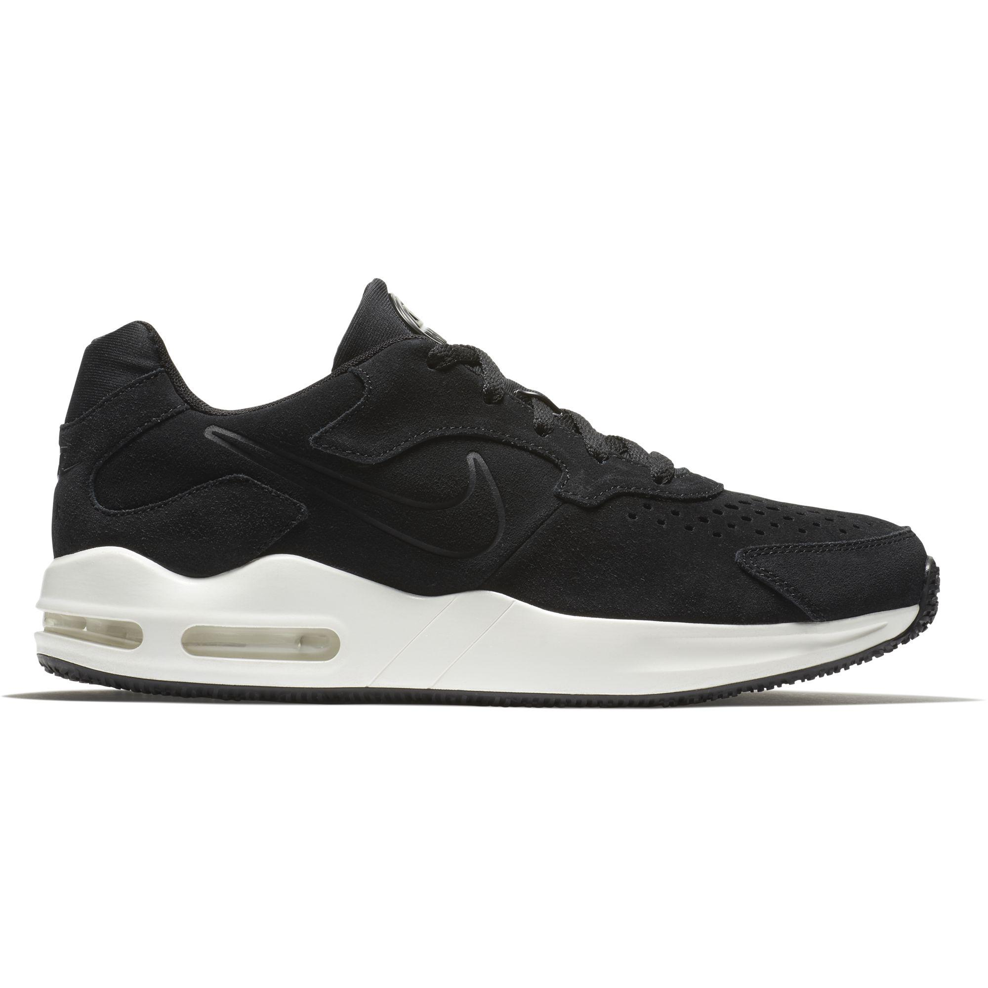 a4feaf7514e0 Nike Mens Air Max Guile Premium Running Shoes - Black Sail-Anthracite -  Tennisnuts.com