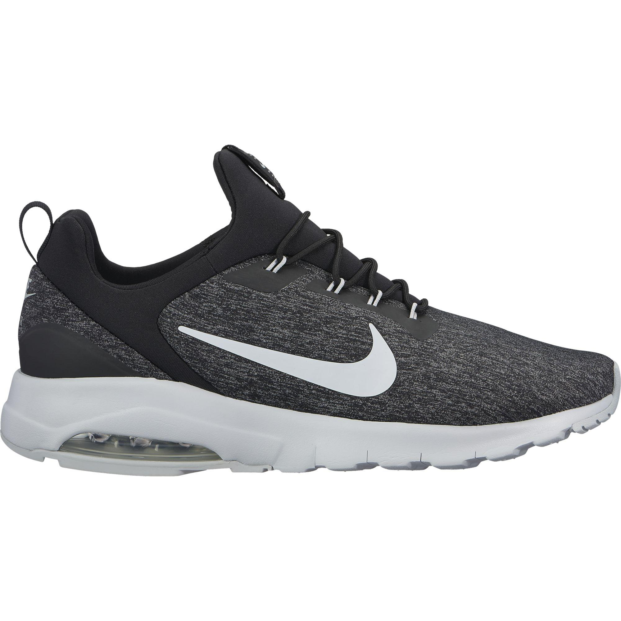 buy popular a0156 8abd5 Nike Mens Air Max Motion Running Shoes - Racer Black Pure Platinum -  Tennisnuts.com