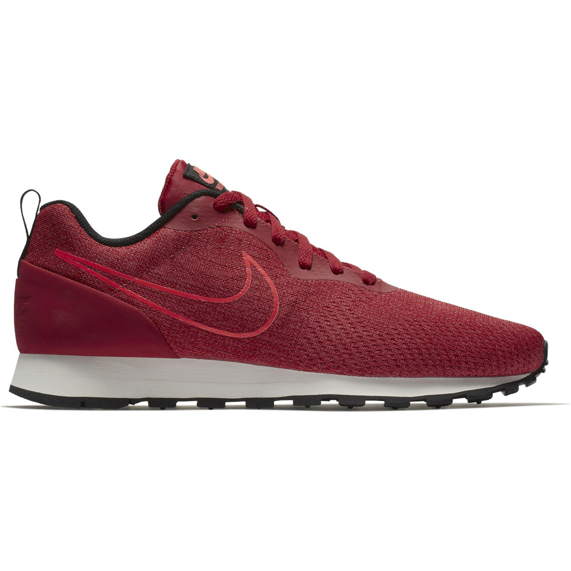 33aed9879e694 Nike Mens MD Runner 2 ENG Mesh Running Shoes - Gym Red - Tennisnuts.com