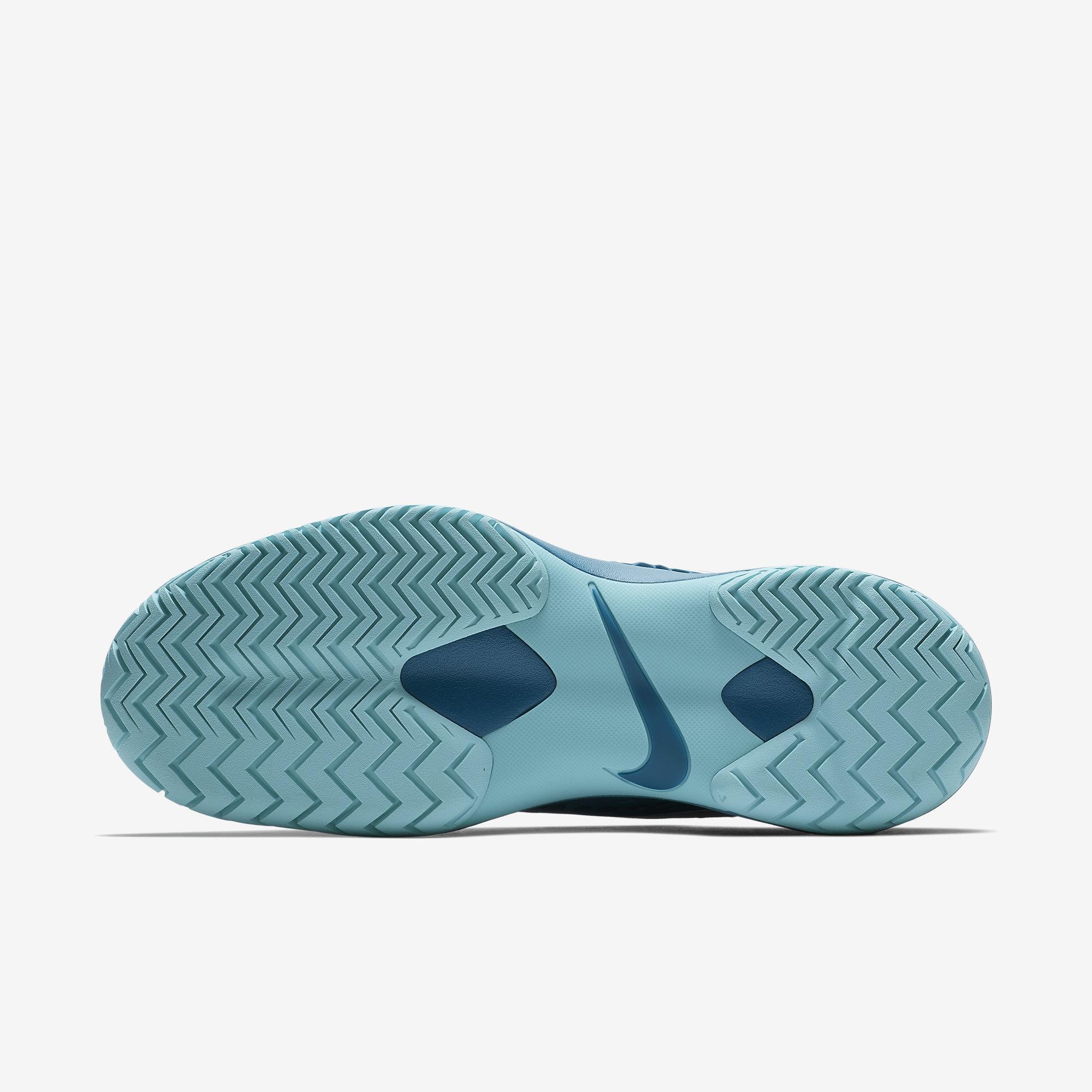 huge discount 58156 a1e43 Nike Mens Zoom Cage 3 Rafa Tennis Shoes - Green Abyss Metallic Silver