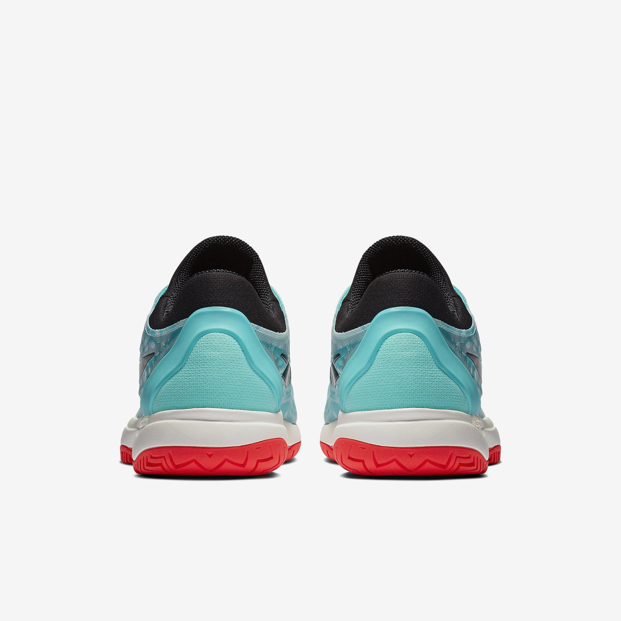 af05196b1d36 Nike Mens Zoom Cage 3 Tennis Shoes - Aurora Teal Tint Phantom Black ...