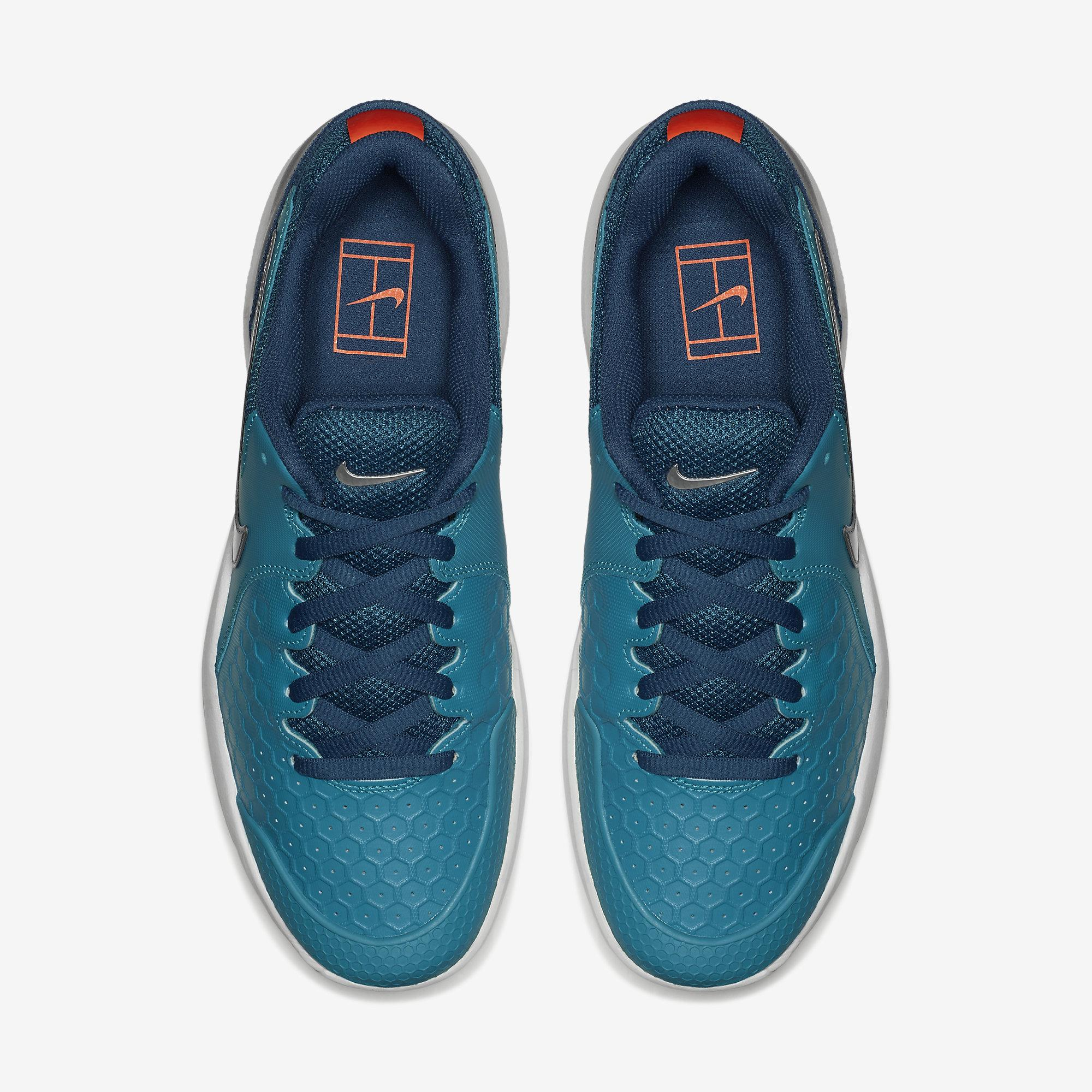 reputable site 07025 819a4 Nike Mens Air Zoom Resistance Tennis Shoes - Neo Turquoise