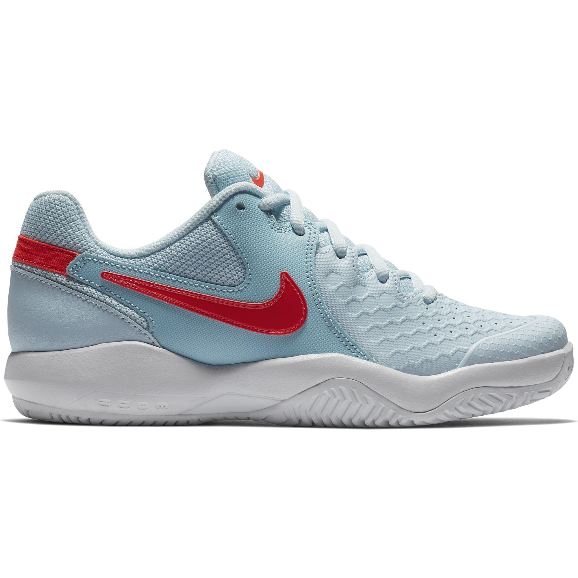 1eb5a27ab9e09e Nike Womens Air Zoom Resistance Tennis Shoes - Topaz Mist Still Blue -  Tennisnuts.com
