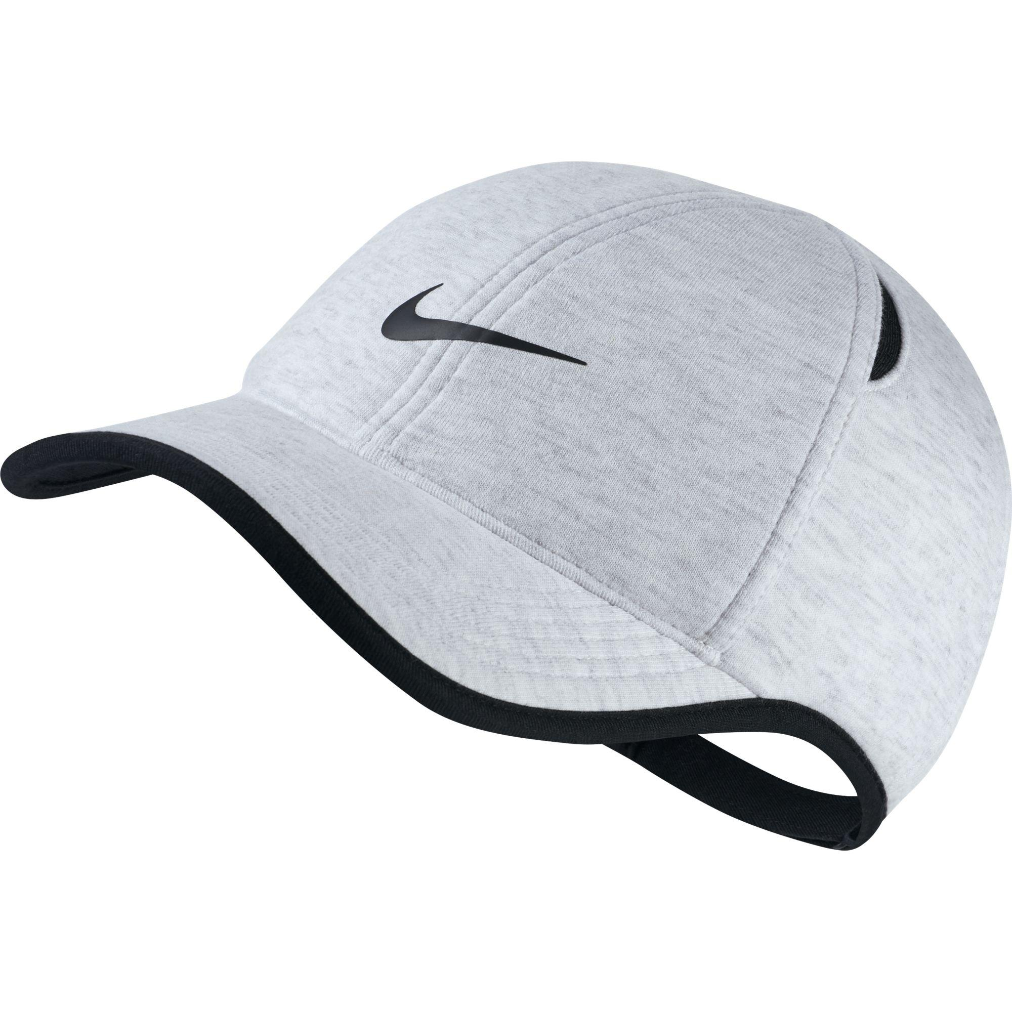3ed7e222323 Nike AeroBill Featherlight Adjustable Cap - Birch Heather - Tennisnuts.com
