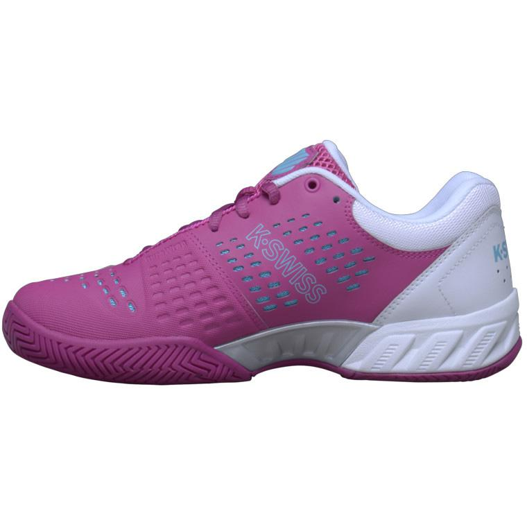 k swiss womens bigshot light 2 5 tennis shoes white pink