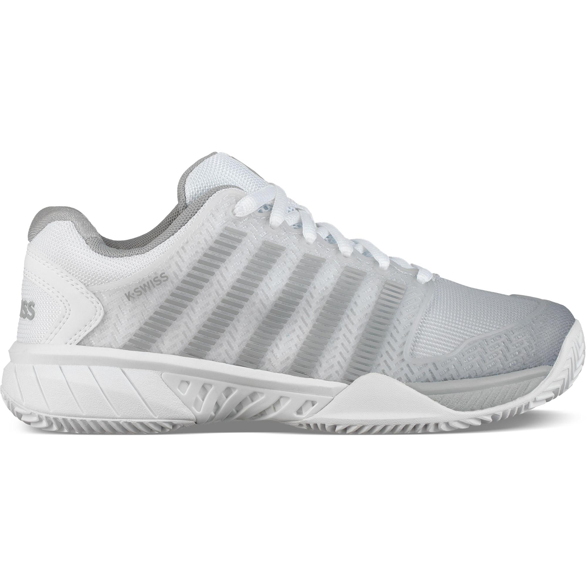 bd8ee317acfe4 K-Swiss Womens Hypercourt Express HB Tennis Shoes - White/Highrise