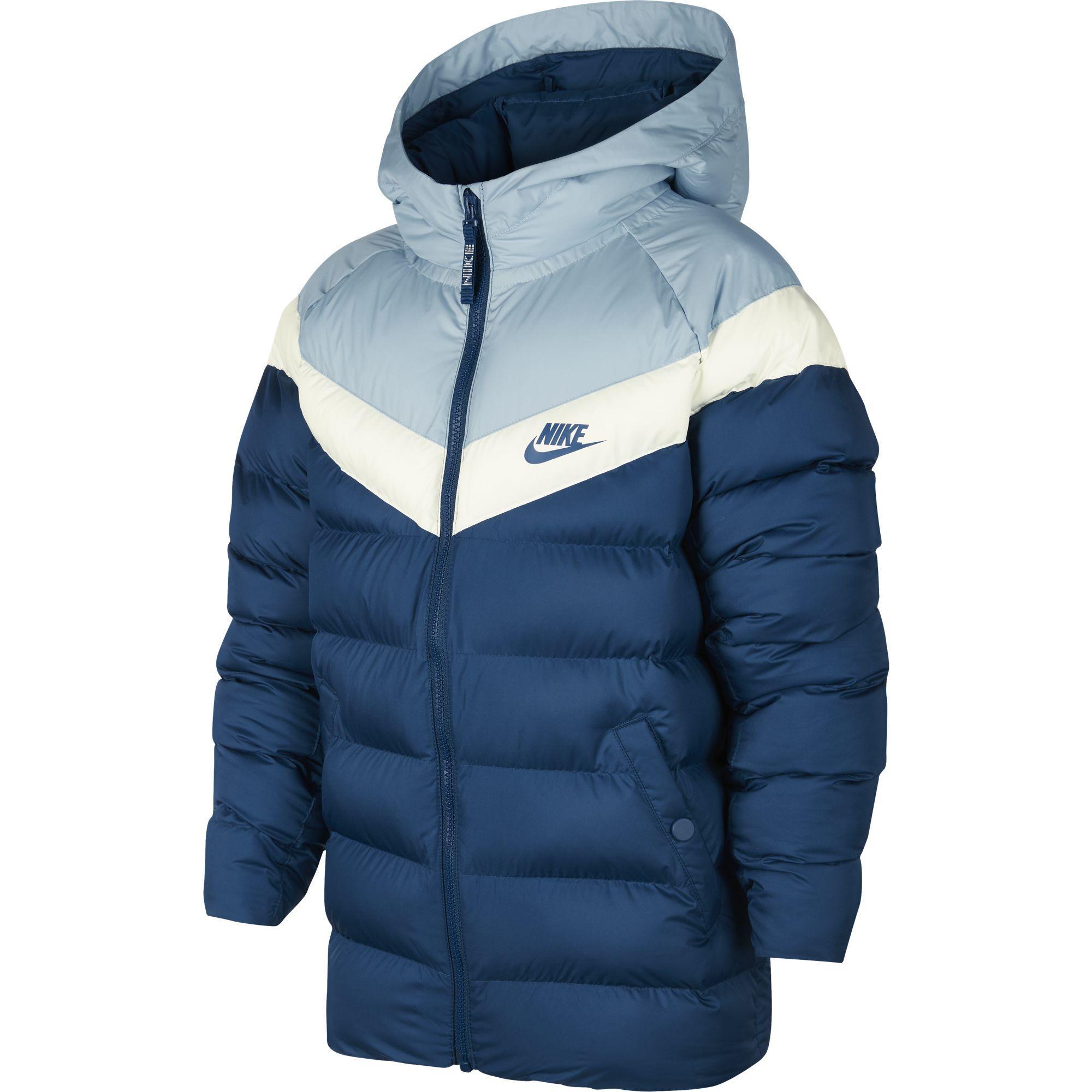 4d2b9be93 Nike Kids Sportswear Synthetic Fill Jacket - Blue Force/Ocean Bliss/Sail -  Tennisnuts.com