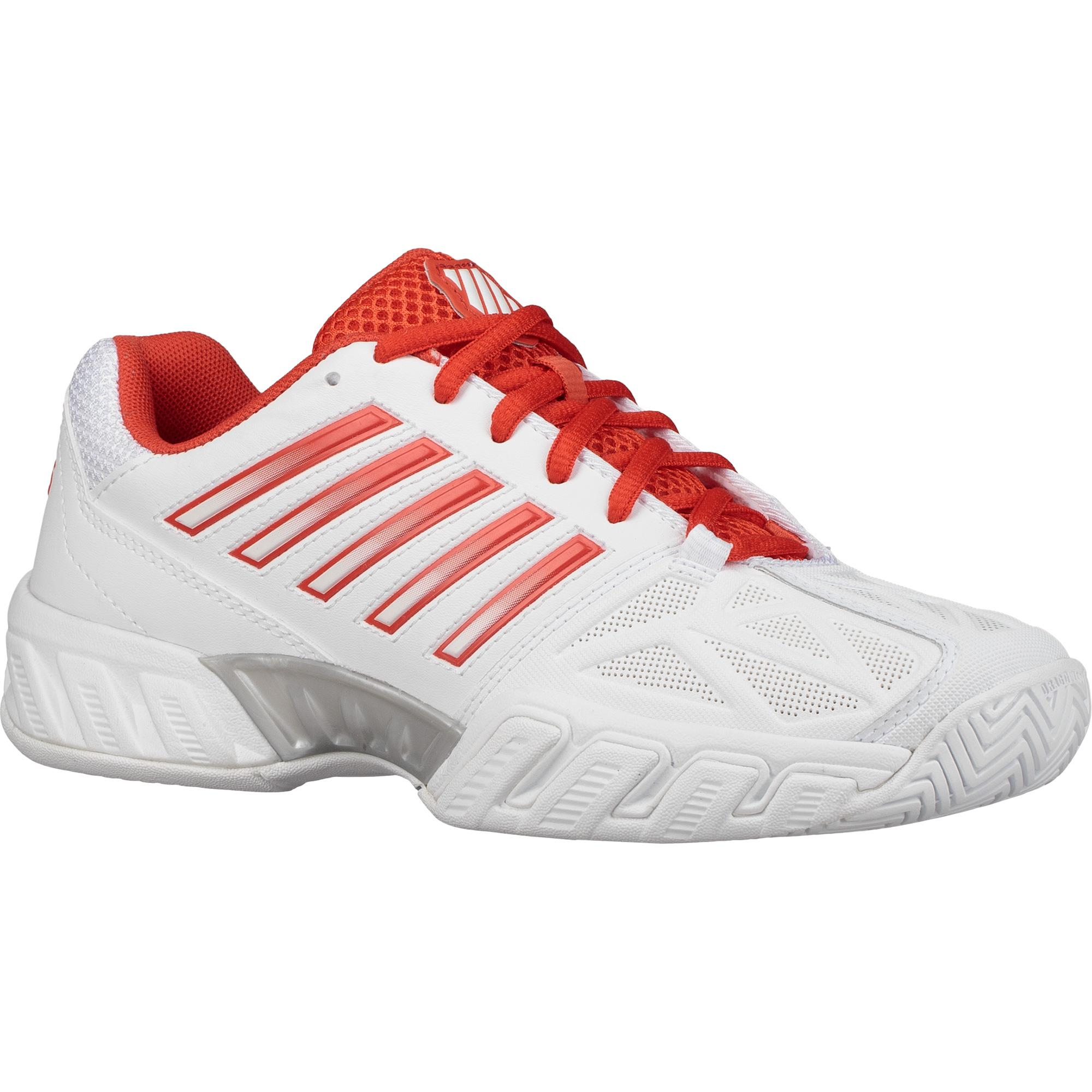 K Swiss Womens Tennis Shoes White Silver