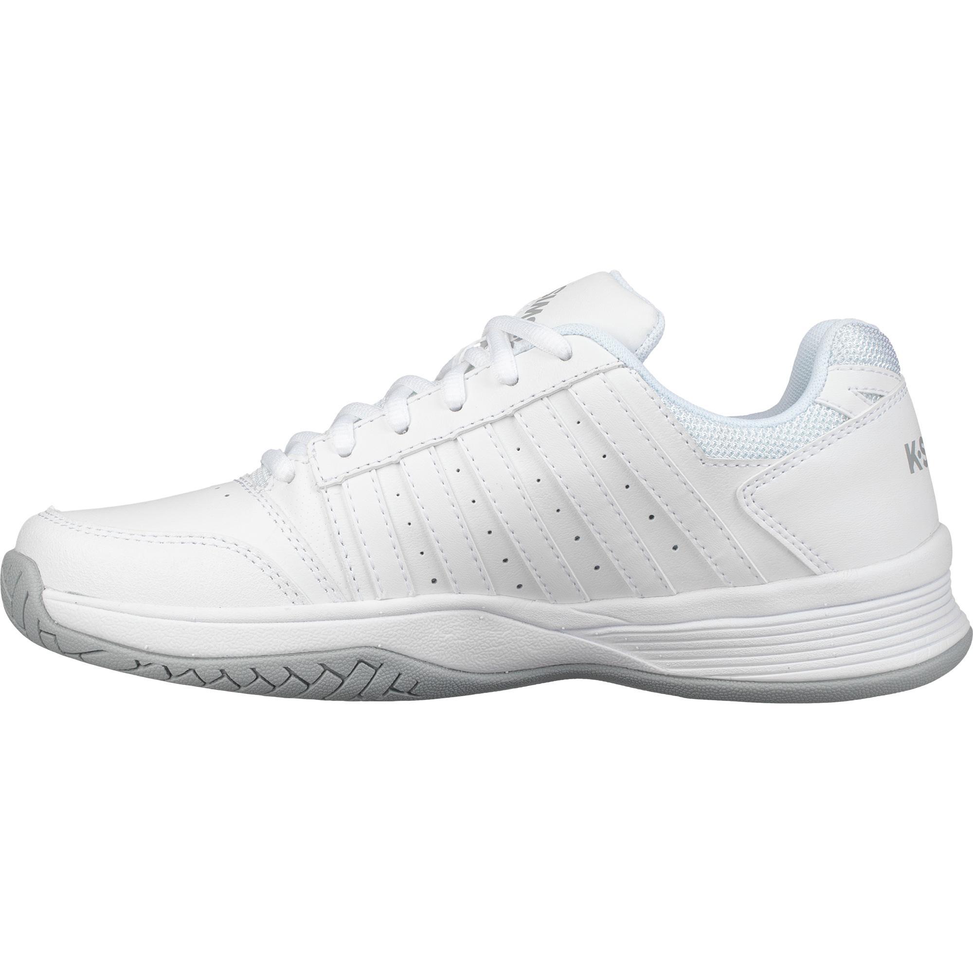 2d0bb6fa82936 K-Swiss Womens Court Smash Tennis Shoes - White/Highrise