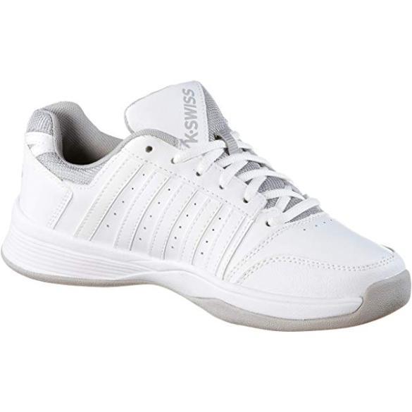 503c5f5004b3f K-Swiss Womens Court Smash Carpet Tennis Shoes - White/Highrise