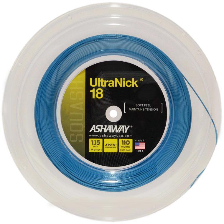 Ashaway Power Nick 1.15mm 18 Squash Strings 110M Reel