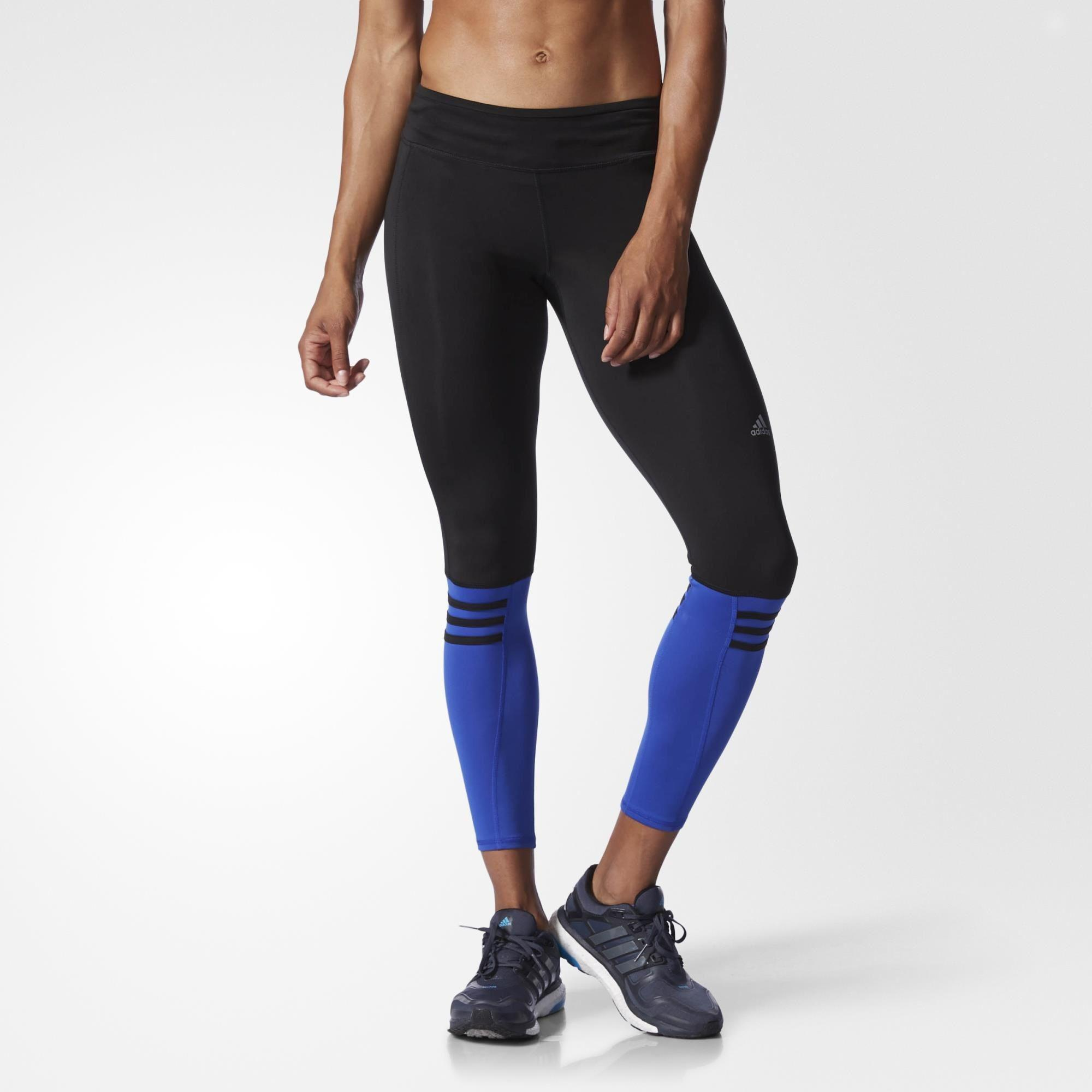 Adidas Womens Response Long Tights BlackBlue