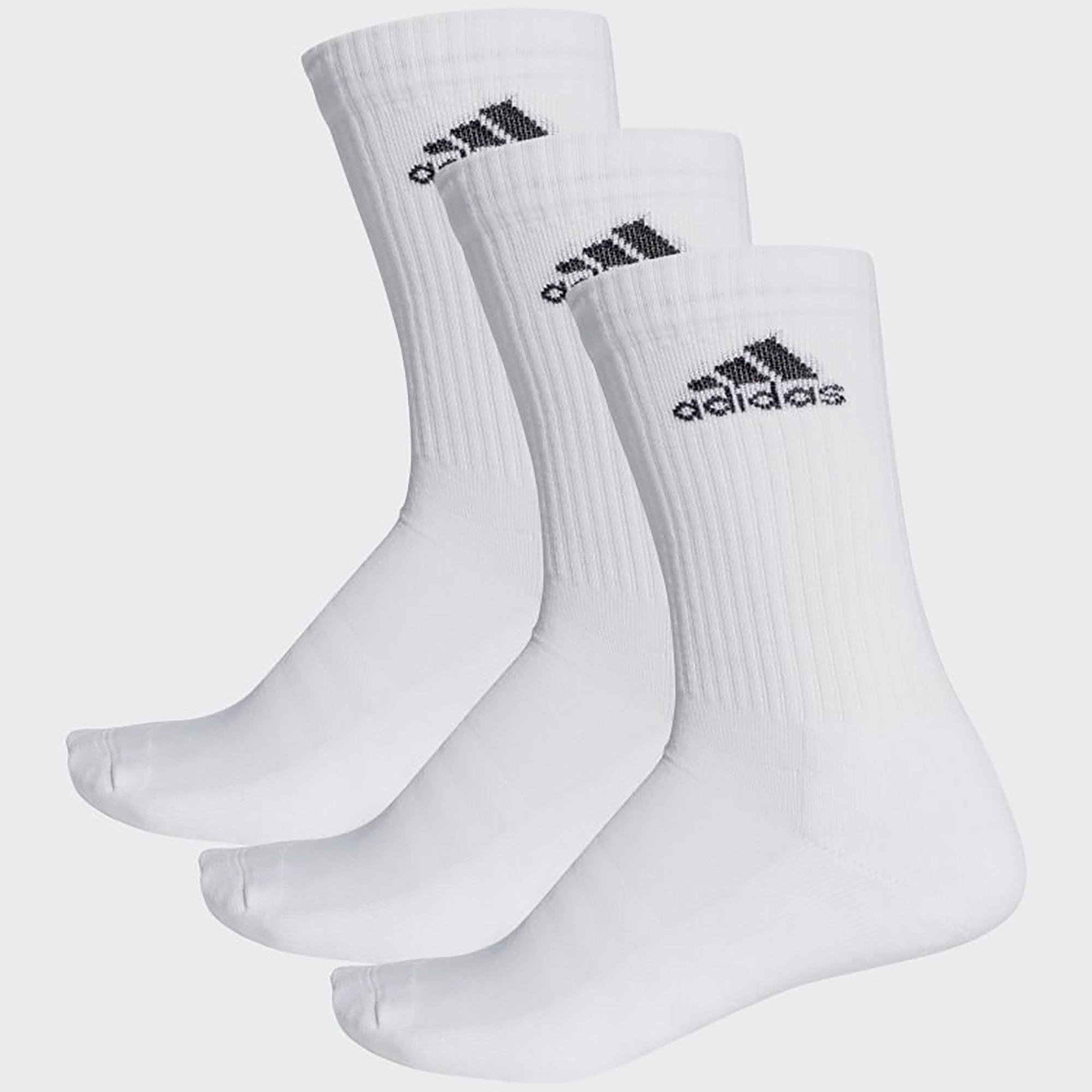 065d72a20 Adidas 3-Stripes Performance Crew Socks (3 Pairs) - White/Black -  Tennisnuts.com