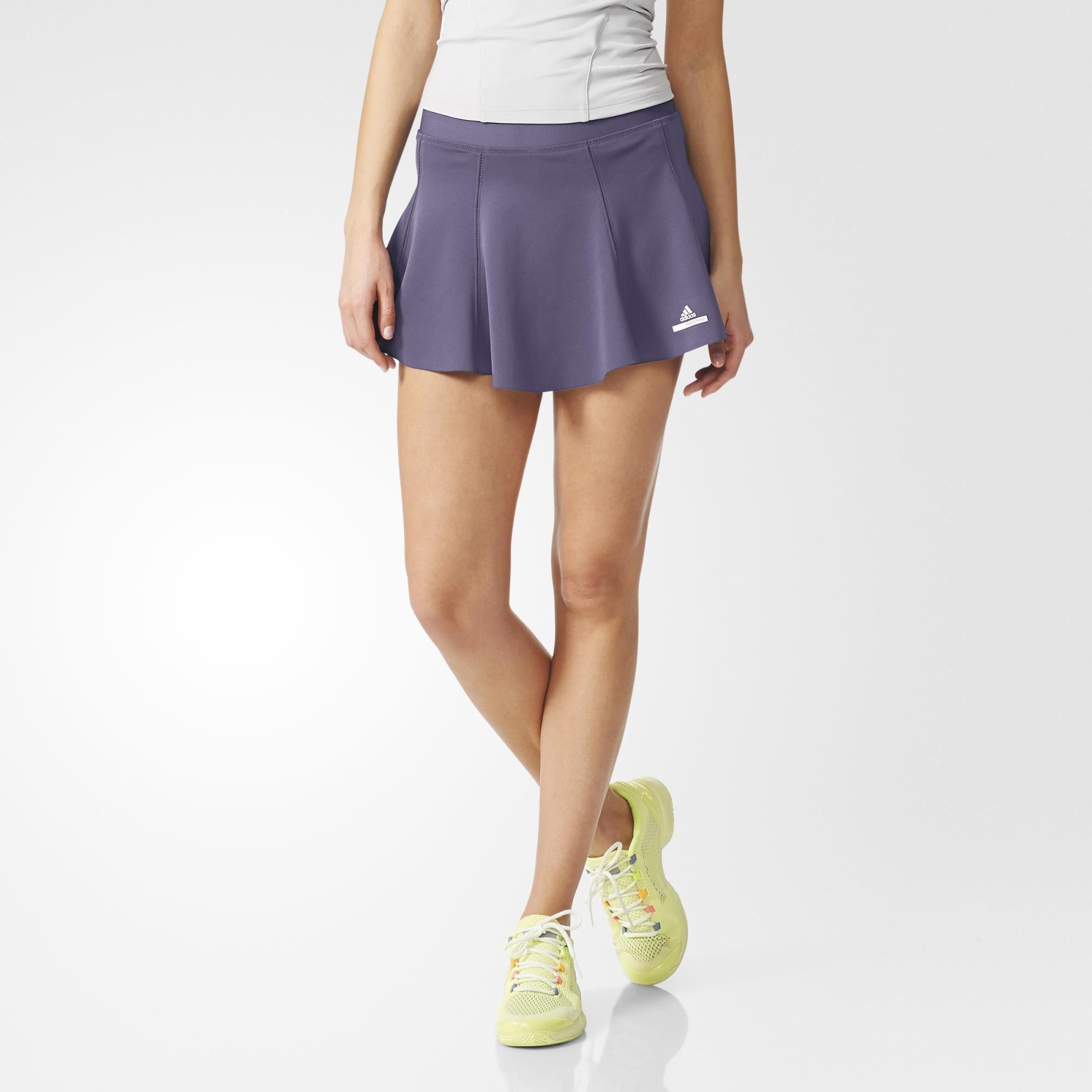 2f0b4dfcfae Adidas Womens SMC Barricade NY Skort - Platinum Mauve - Tennisnuts.com