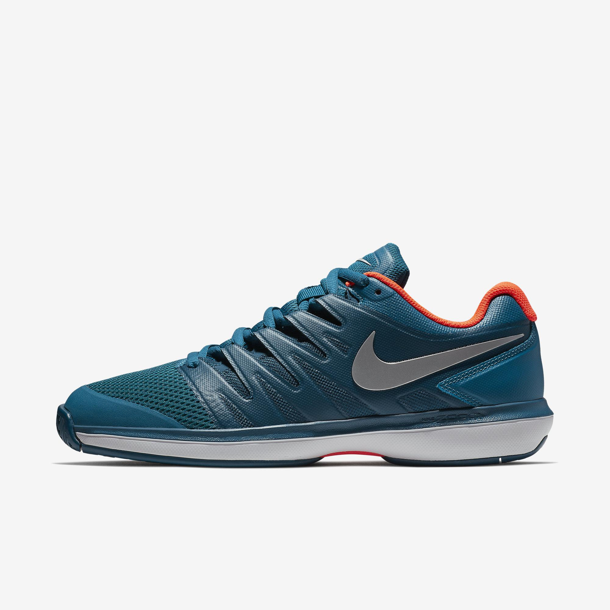 release date: 88931 11413 Nike Mens Air Zoom Prestige Tennis Shoes - Green Abyss Blue Force -  Tennisnuts.com