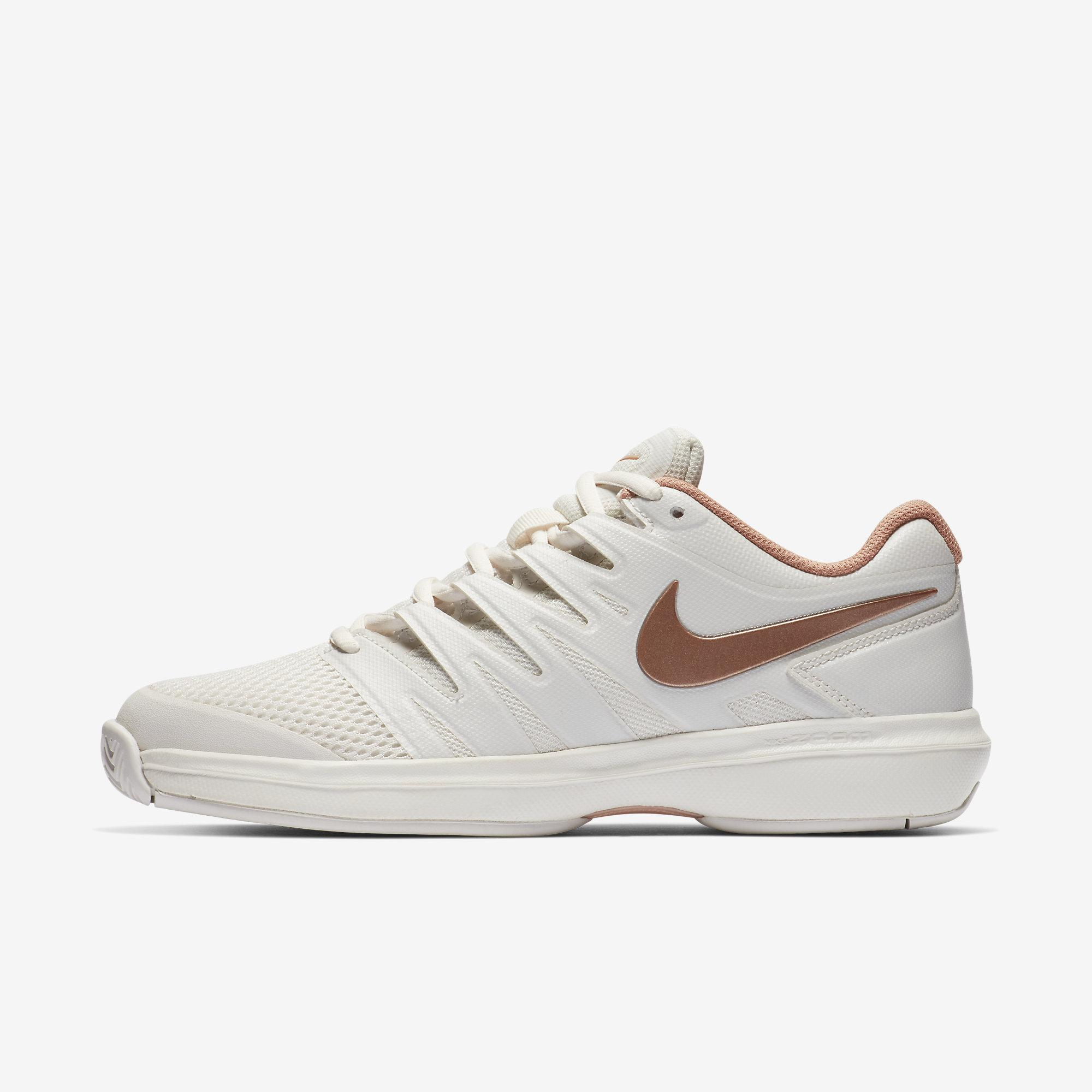1e121b0d4793 Nike Womens Air Zoom Prestige Tennis Shoes - Phantom Rose Gold -  Tennisnuts.com