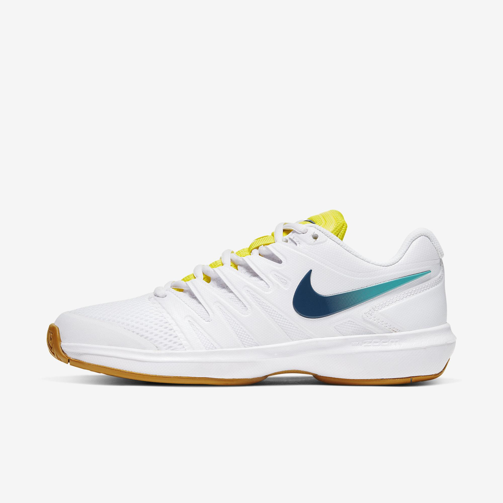 A través de técnico Contador  Nike Womens Air Zoom Prestige Tennis Shoes - White/Blue Valerian -  Tennisnuts.com