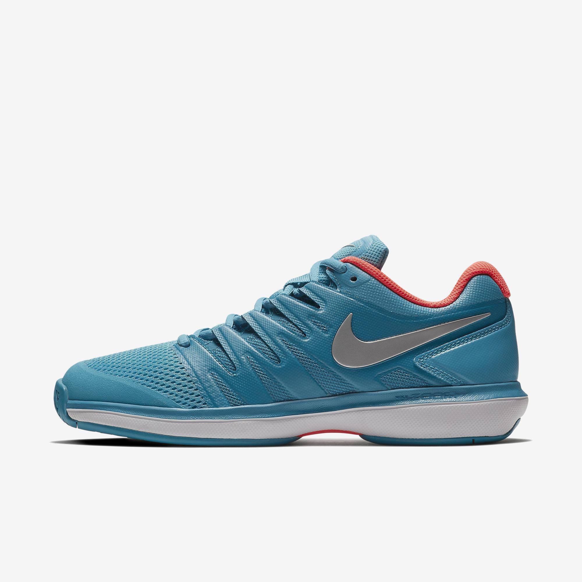 251658ece8c5 Nike Womens Air Zoom Prestige Tennis Shoes - Light Blue Fury Neo Turquoise  - Tennisnuts.com