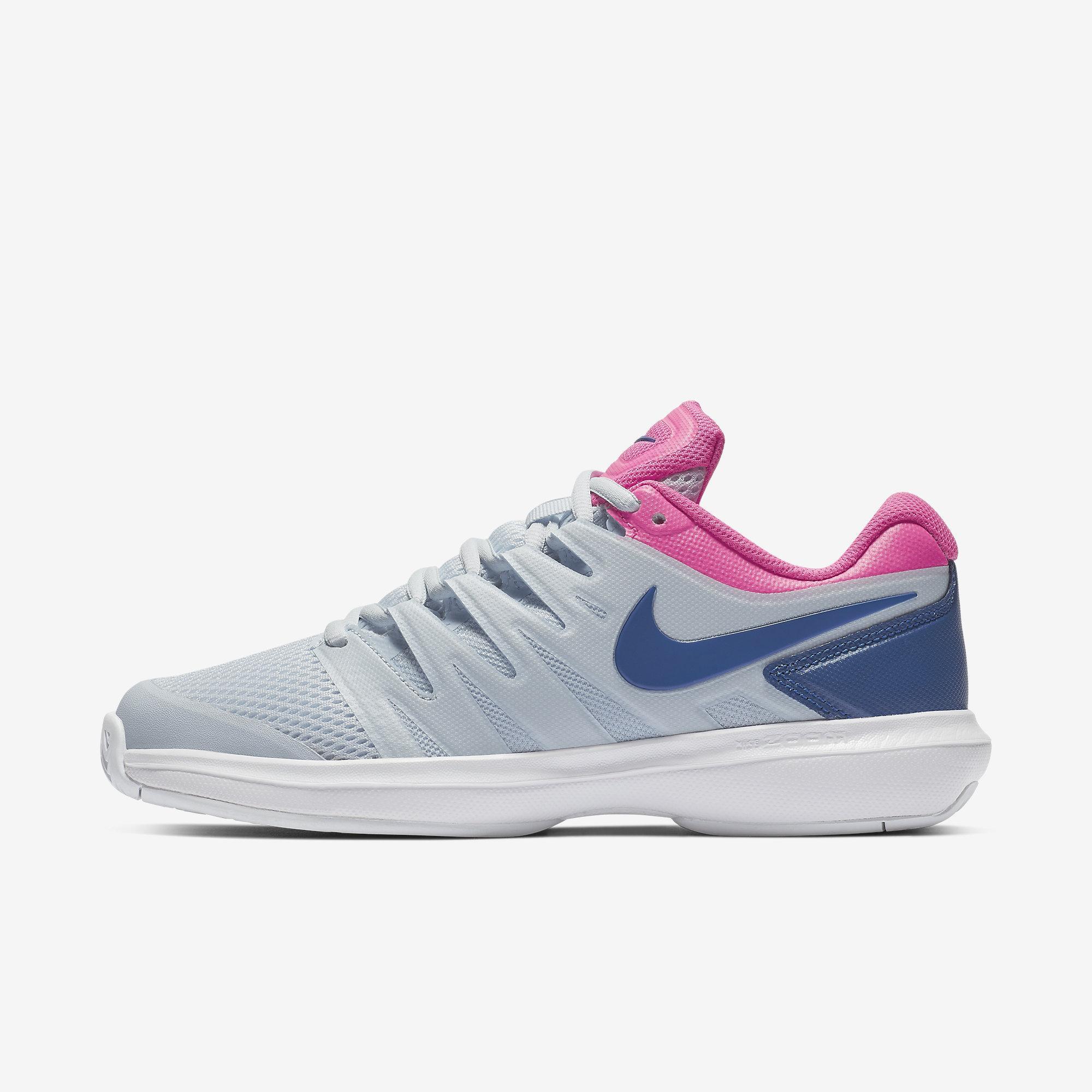 636e1ebe6d037 Nike Womens Air Zoom Prestige Tennis Shoes - Half Blue/Pink Blast -  Tennisnuts.com