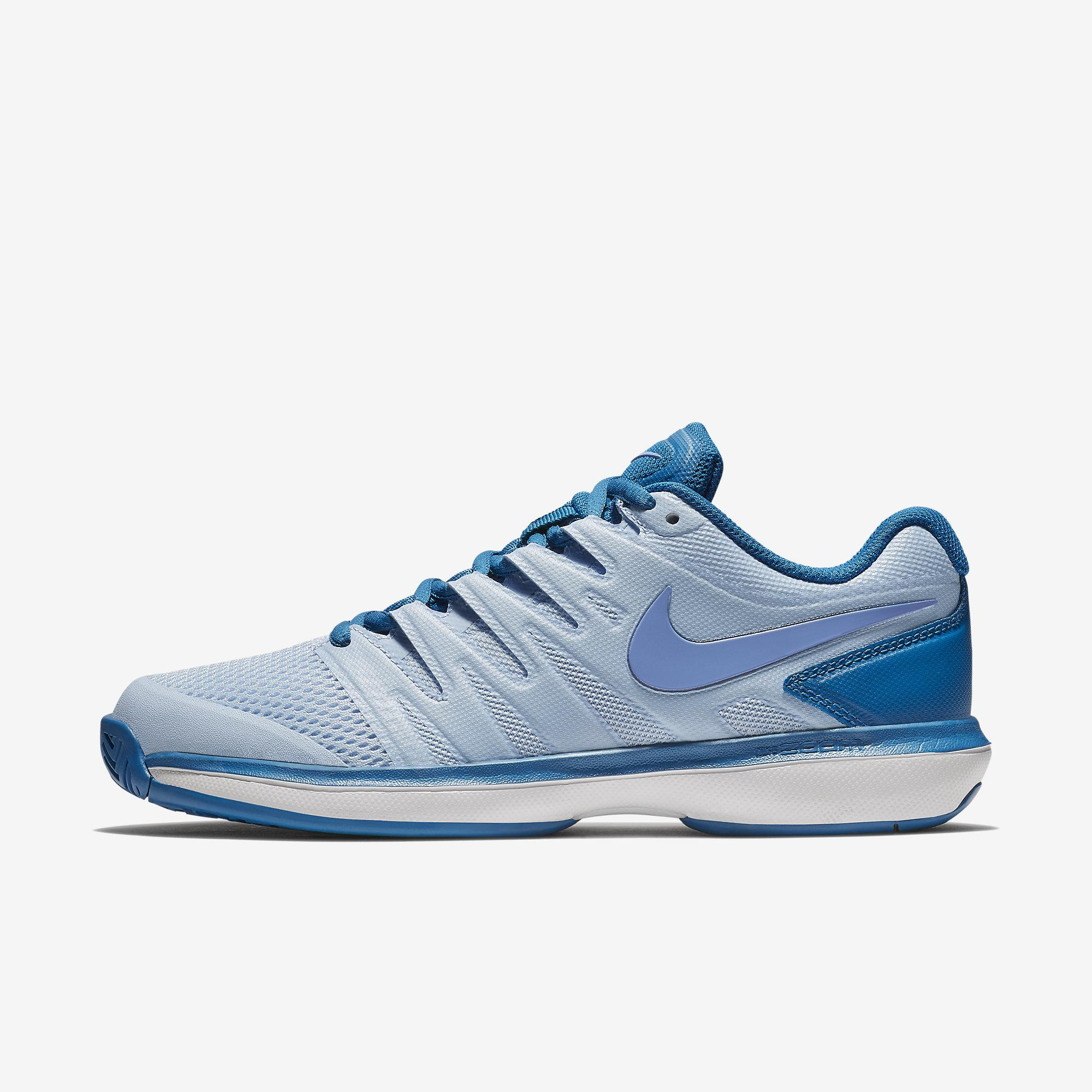 de3f4797a6a66 Nike Womens Air Zoom Prestige Tennis Shoes - Royal Tint Military Blue -  Tennisnuts.com