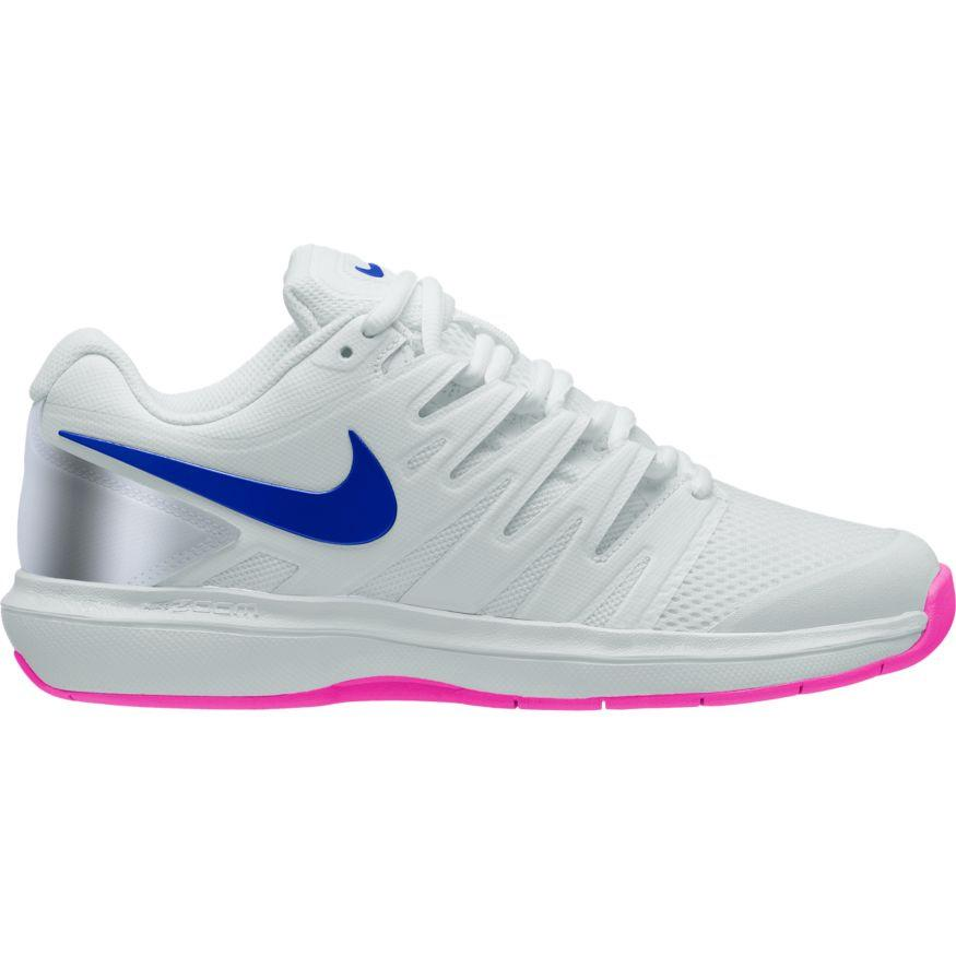 Nike Womens Air Zoom Prestige Clay Pure PlatinumRacer BlueMetallic Platinum