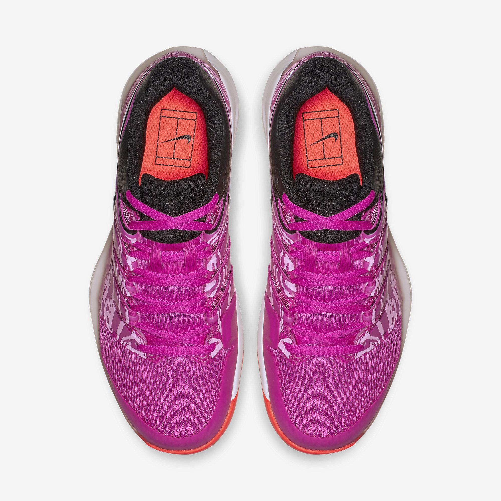 Nike Womens Air Zoom Vapor X Tennis Shoes Laser Fuchsia