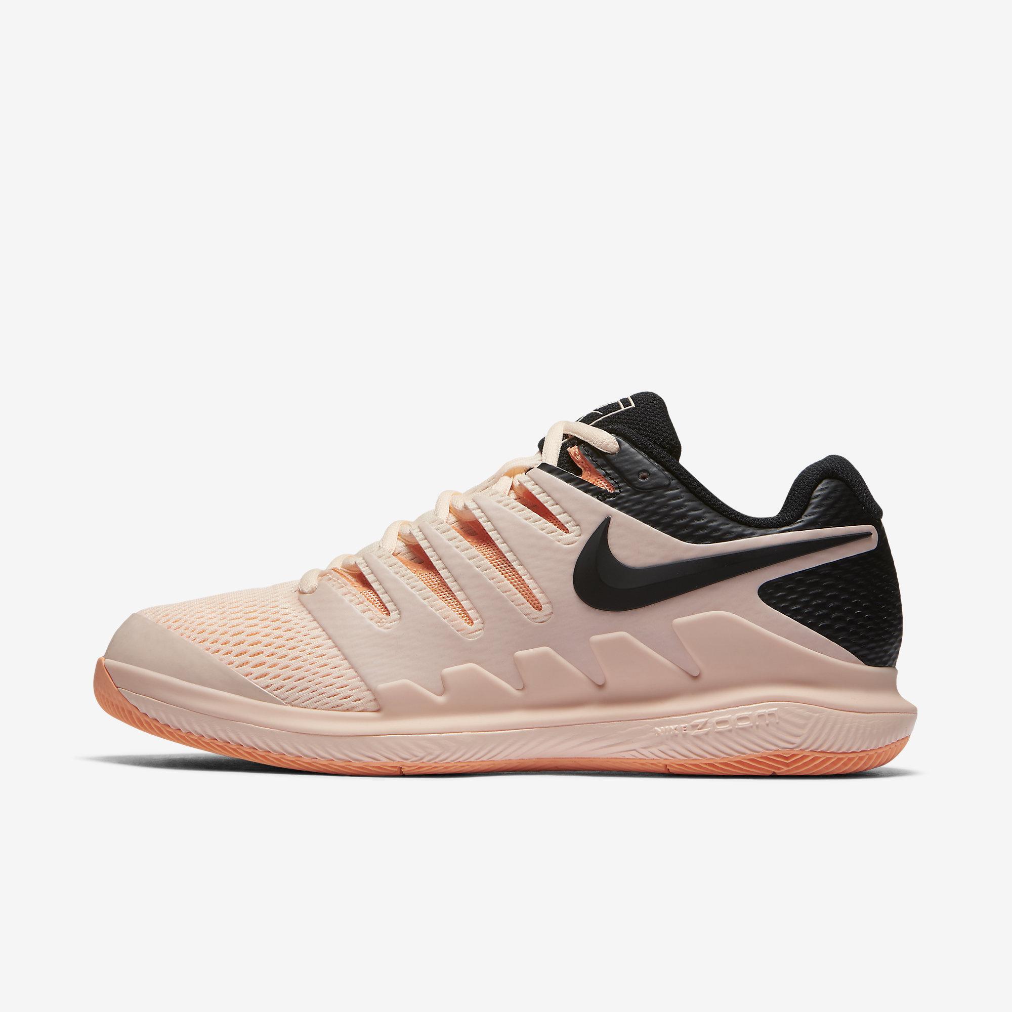 919e617322bed Nike Womens Air Zoom Vapor X Tennis Shoes - Crimson Tint - Tennisnuts.com