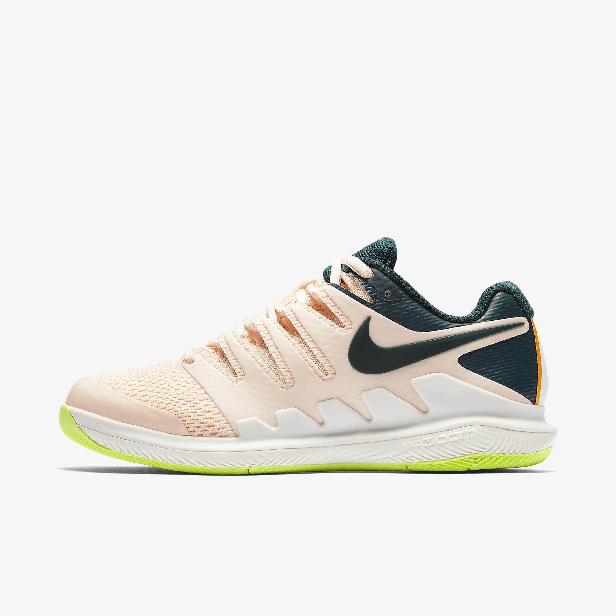 size 40 7e6f3 10f4c Nike Womens Air Zoom Vapor X Tennis Shoes - Guava Ice Midnight Spruce -  Tennisnuts.com