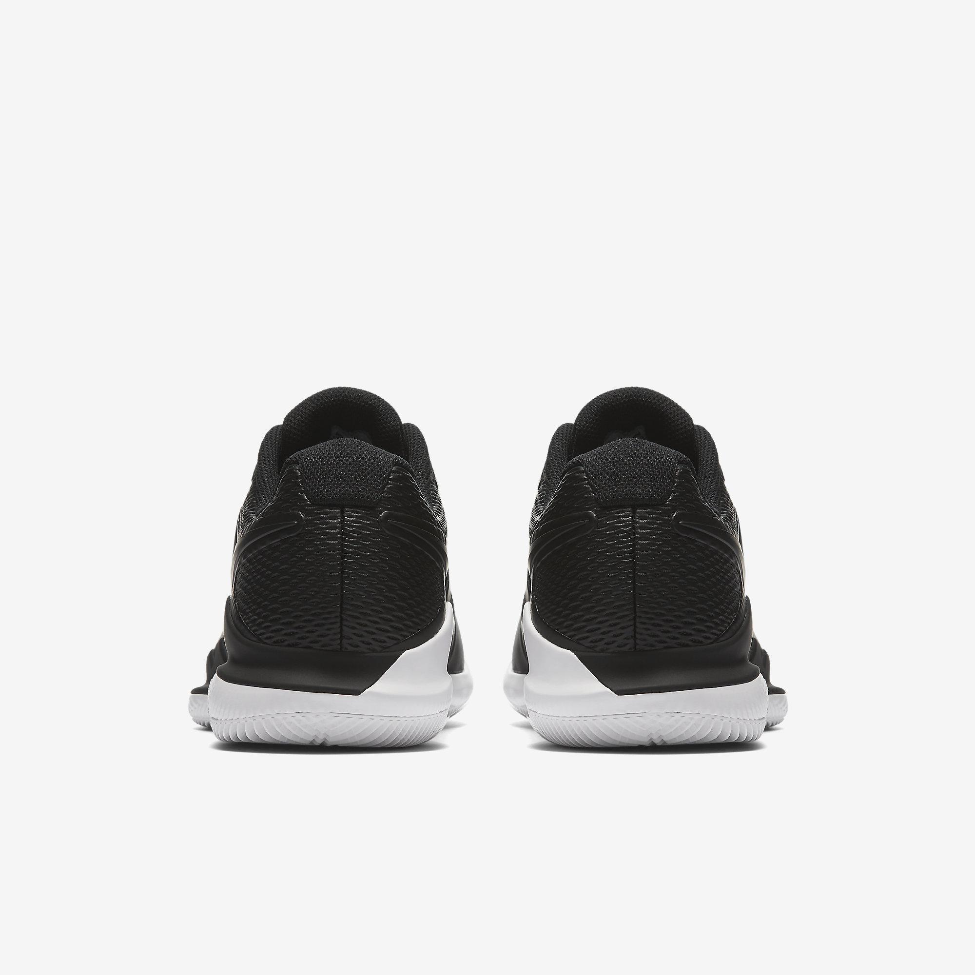 the latest 7eb09 e48fb Nike Mens Air Zoom Vapor X Tennis Shoes - Black White