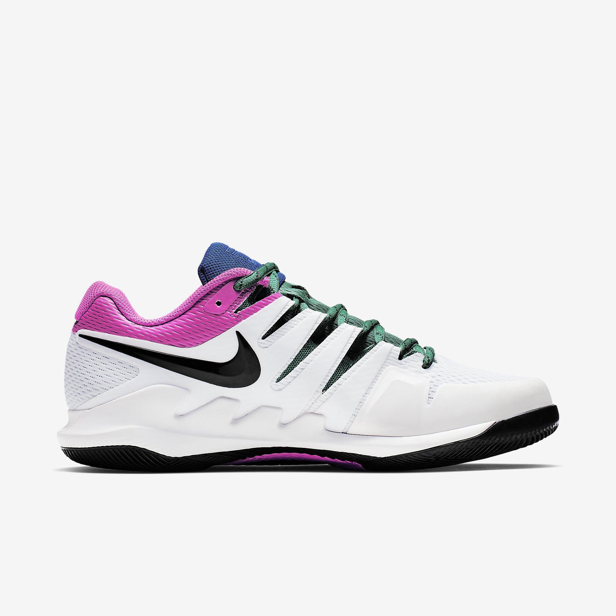 ca96372de875 Nike Mens Air Zoom Vapor X Tennis Shoes - White Multi-Colour ...