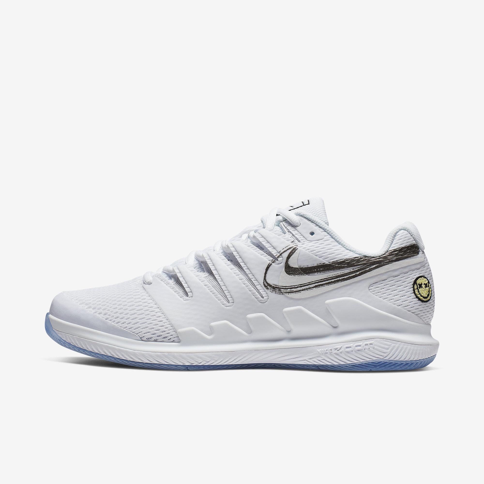 Nike Air Zoom Vapor X Carpet Shoe Men White, Dark Blue buy