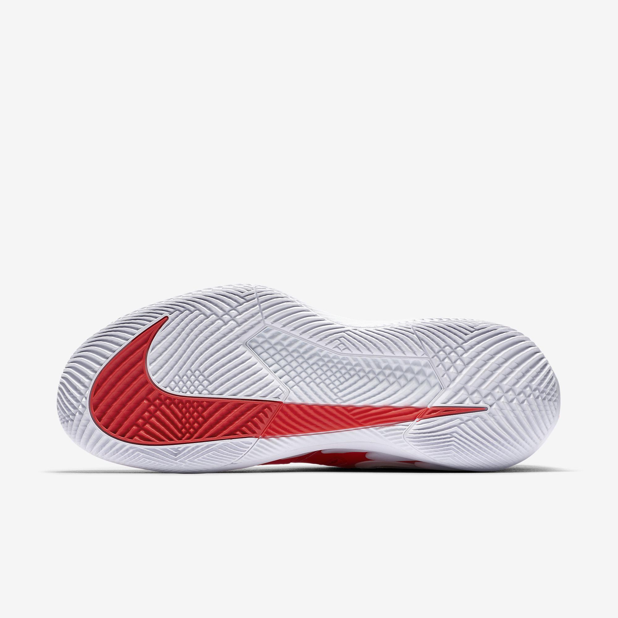 detailing e2203 9185f Nike Mens Air Zoom Vapor X Tennis Shoes - Bright Crimson Blackened Blue
