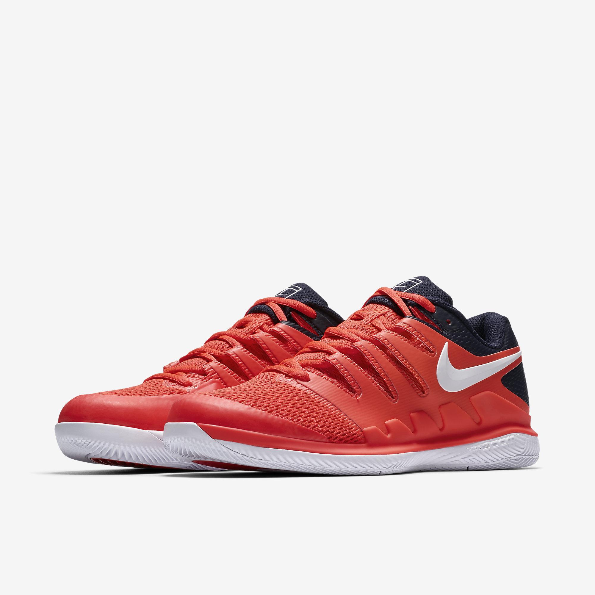 Nike Air Zoom Vapor X Clay Light CreamSchwarzHyper