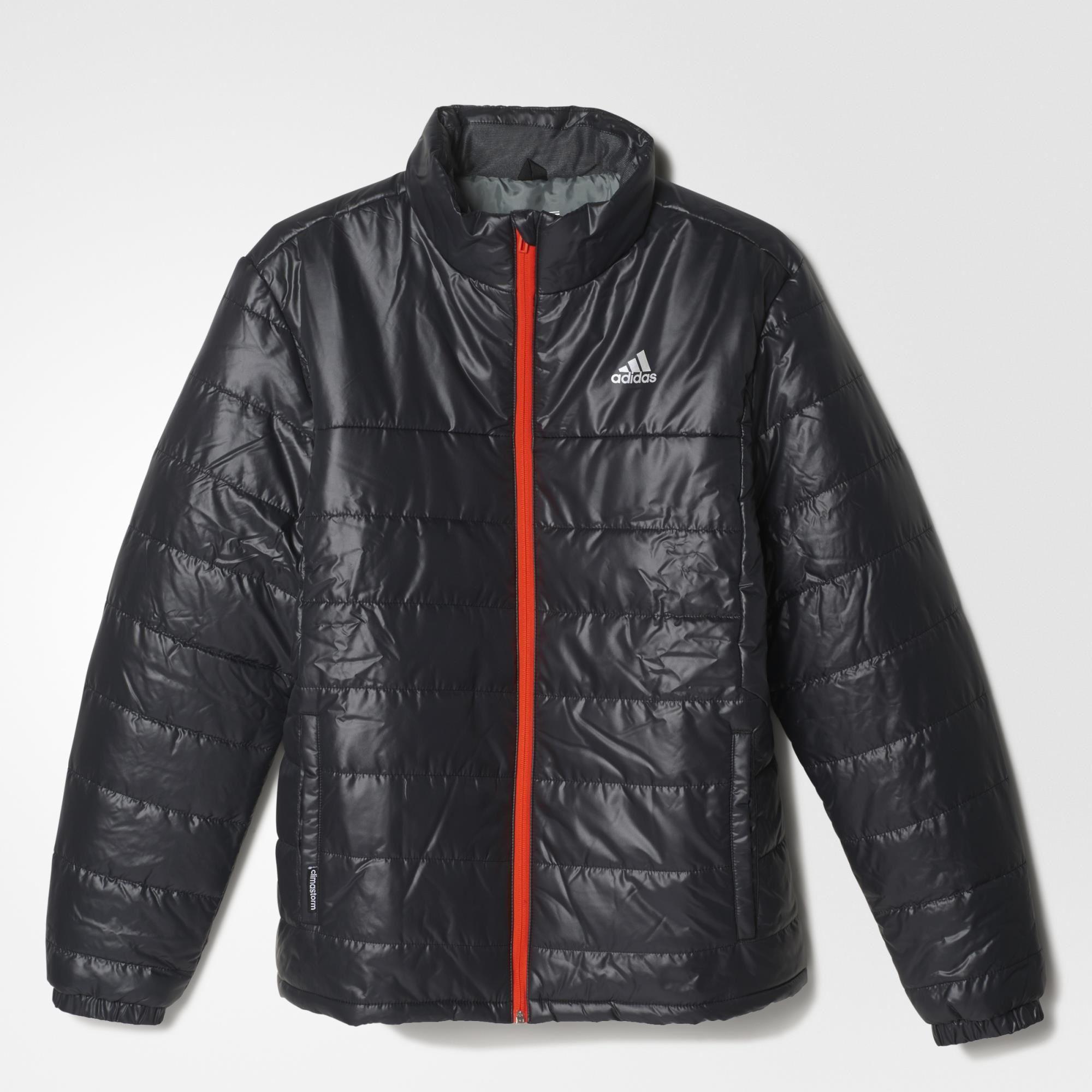 8dc509e161be Adidas Mens Basic Padded Jacket - Black - Tennisnuts.com