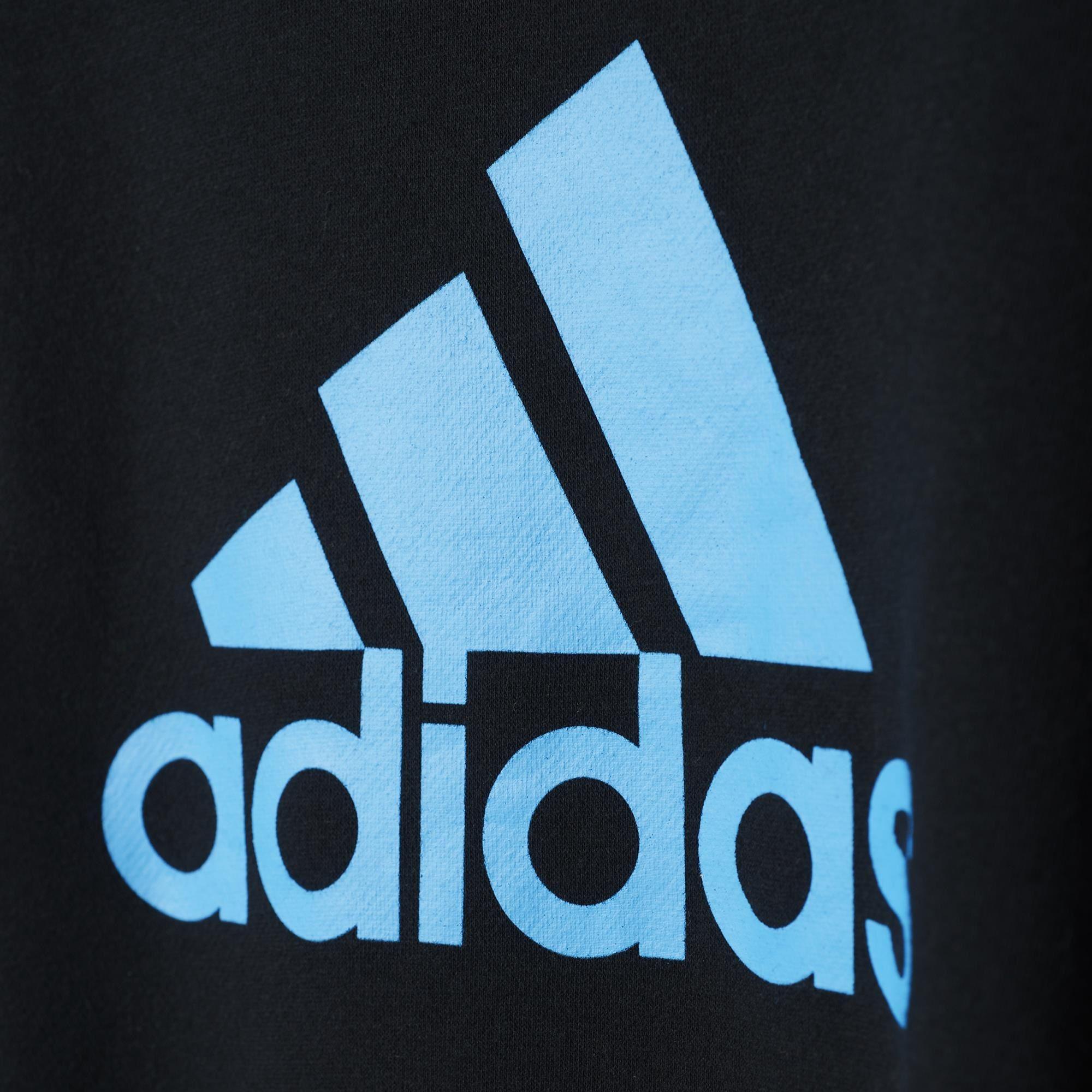 Adidas Boys Essentials Logo Crew Sweatshirt - Black/Solar ...