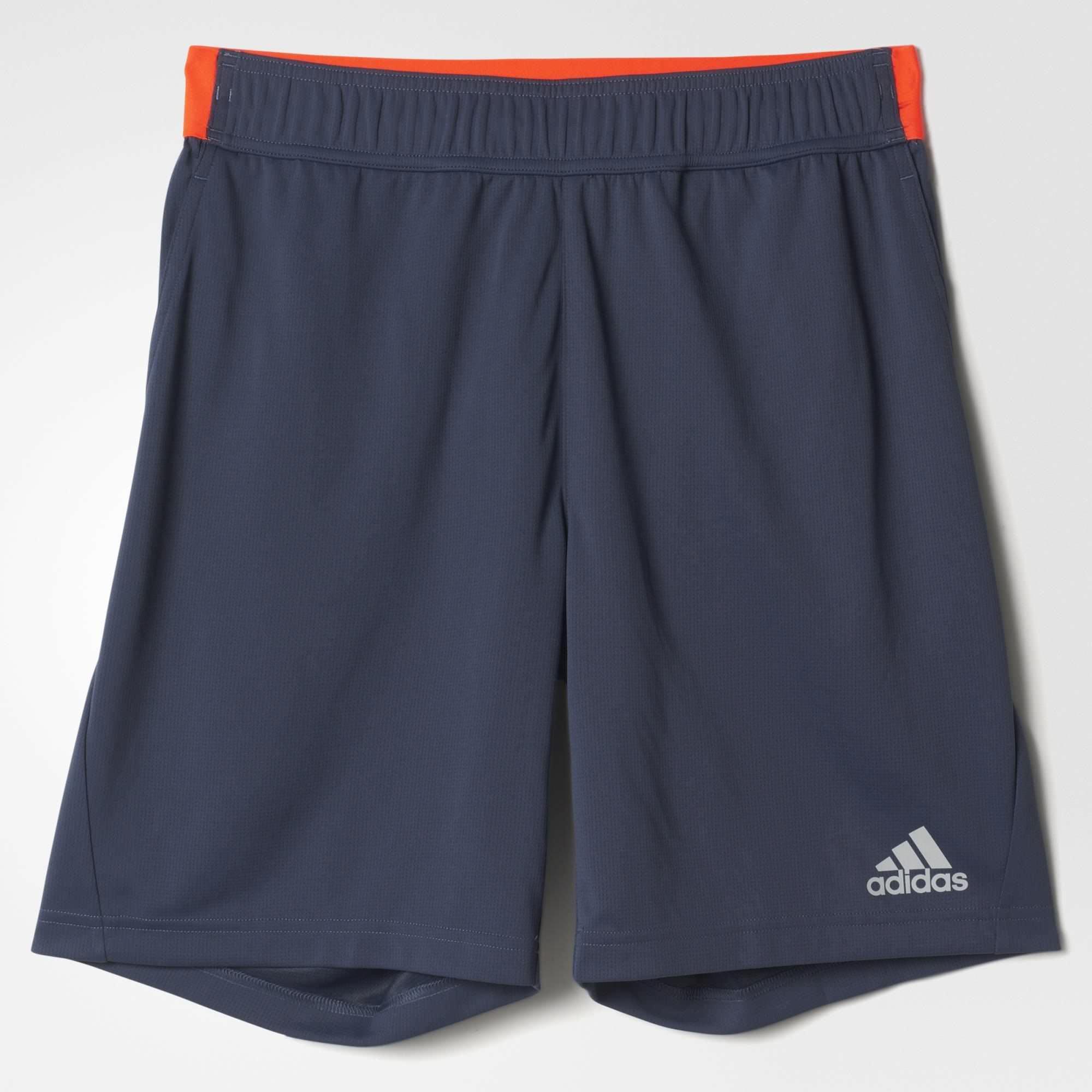 Adidas Mens Barricade Uncontrol Climachill Shorts - Midnight Grey