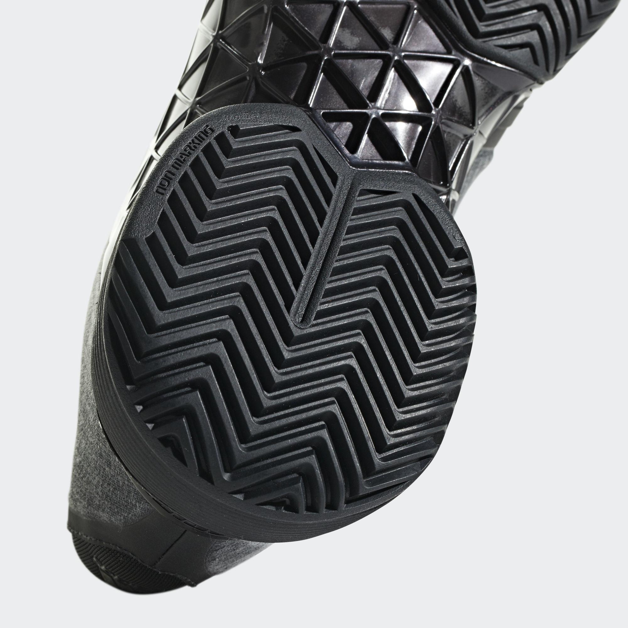 b40b9a6a5ef980 Adidas Mens Barricade 2018 LTD Edition Tennis Shoes - Black ...
