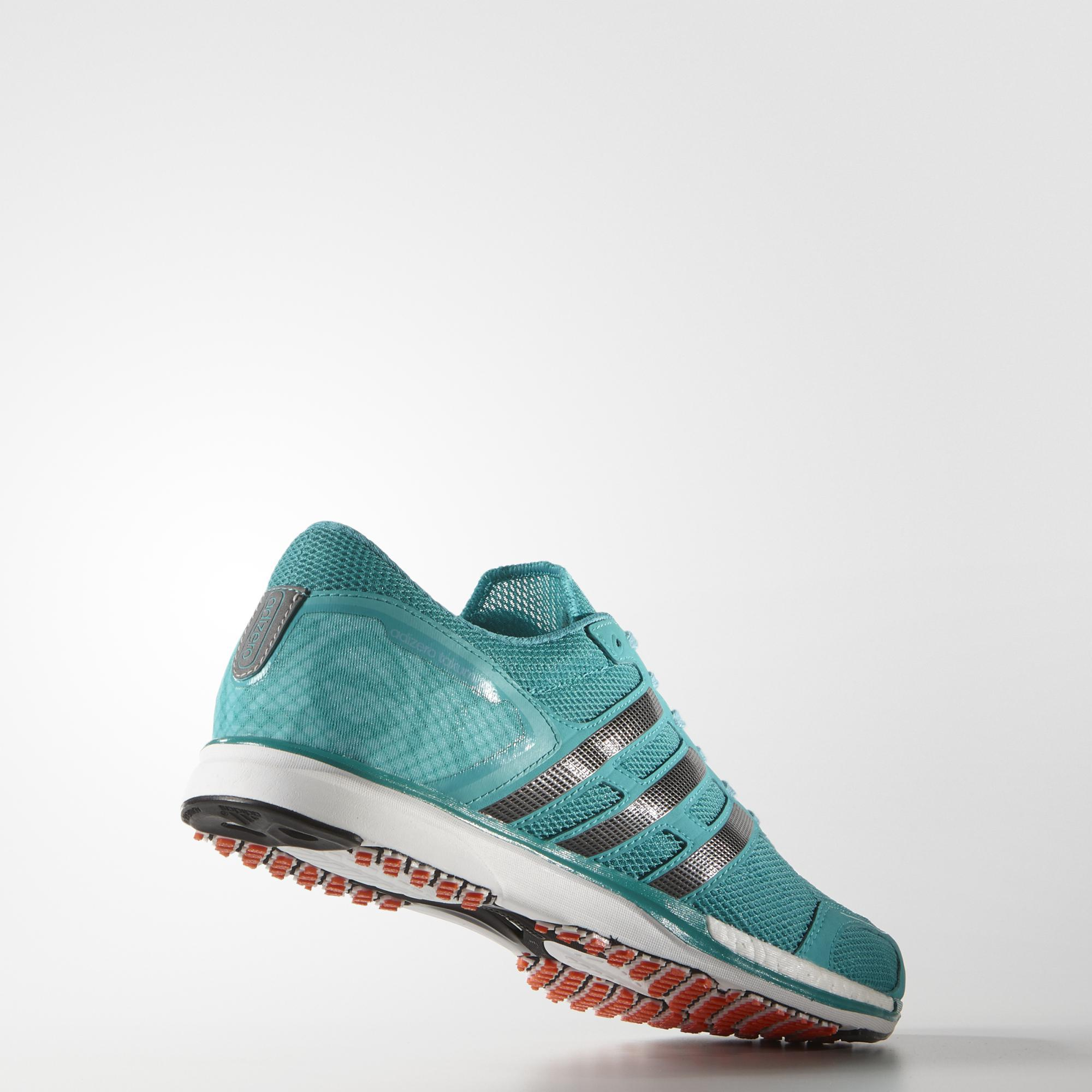 31740d00747 Adidas Mens Adizero Takumi Sen 3 Running Shoes - Shock Green ...