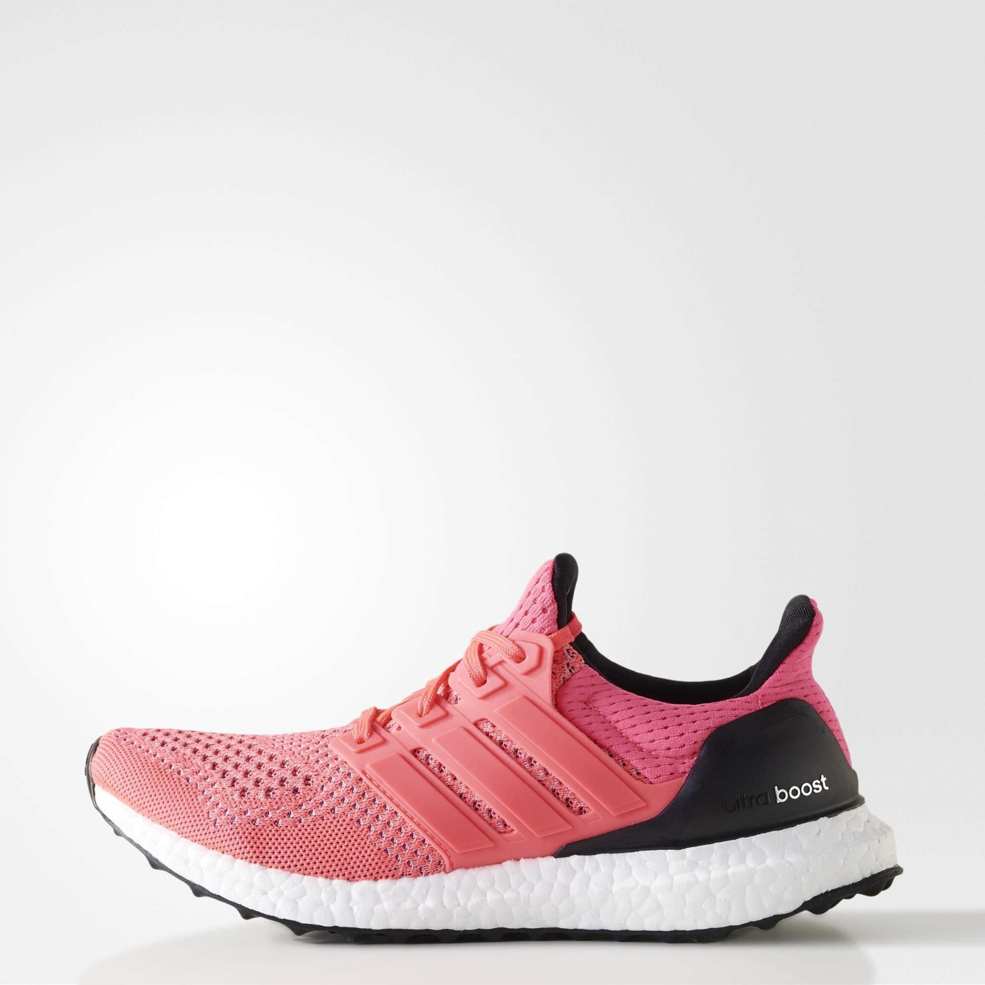e08712d20d05 Adidas Womens Ultra Boost Running Shoes - Flash Red Core Black -  Tennisnuts.com
